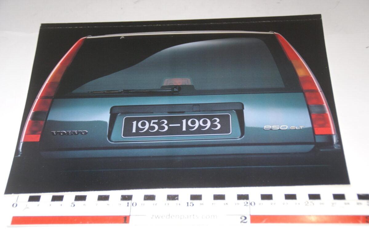 DSC05279 1993 originele brochure Volvo 850 855GLT Europa nr PRPV 9395-03-7afb9505