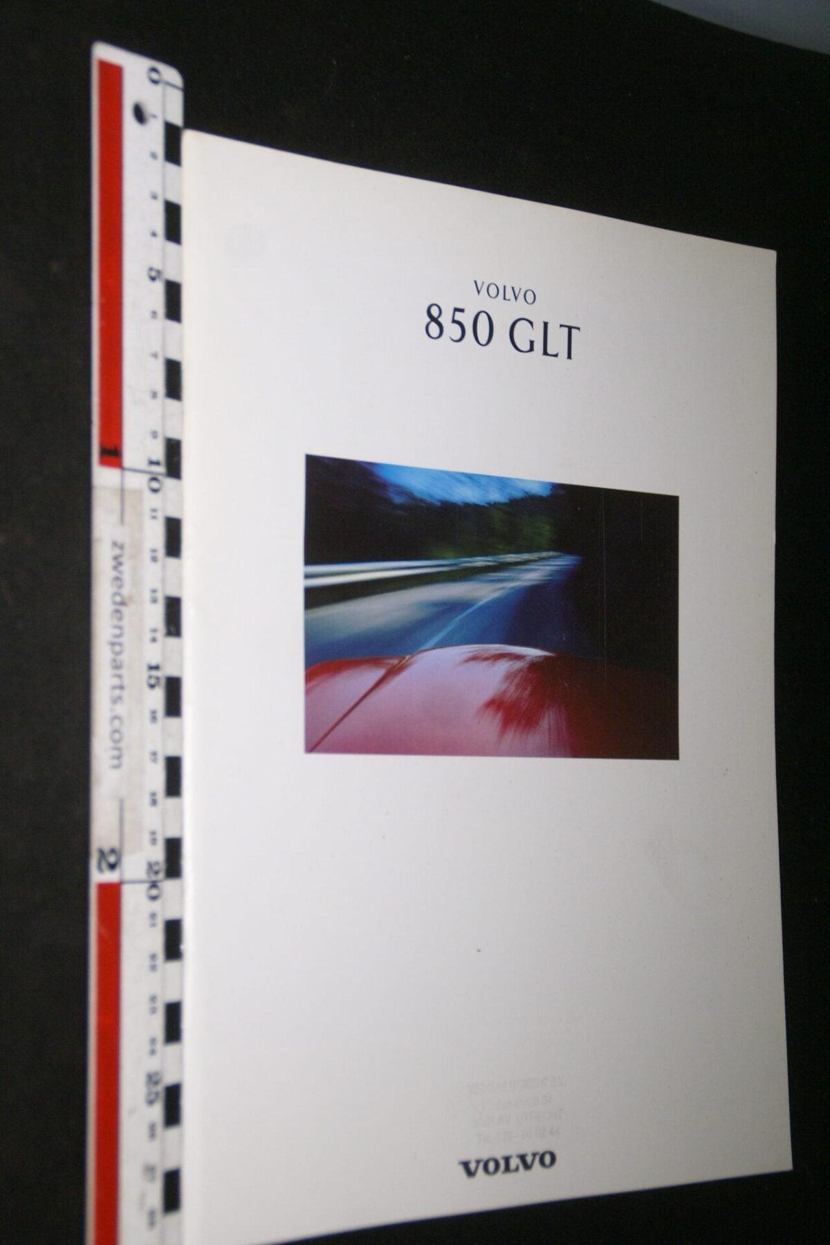 DSC05288 1992 originele brochure Volvo 850GLT nr MSPV 4775-31a9e9b9