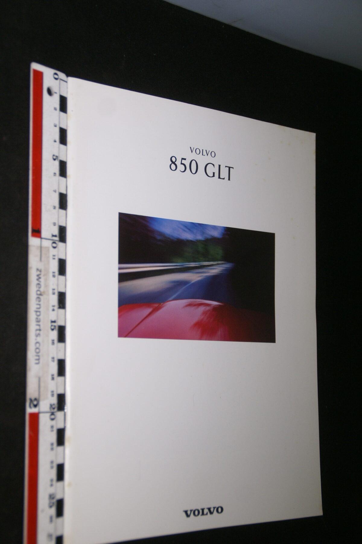 DSC05291 1992 originele brochure Volvo 850GLT nr MSPV 4776, Belgisch-8144df81