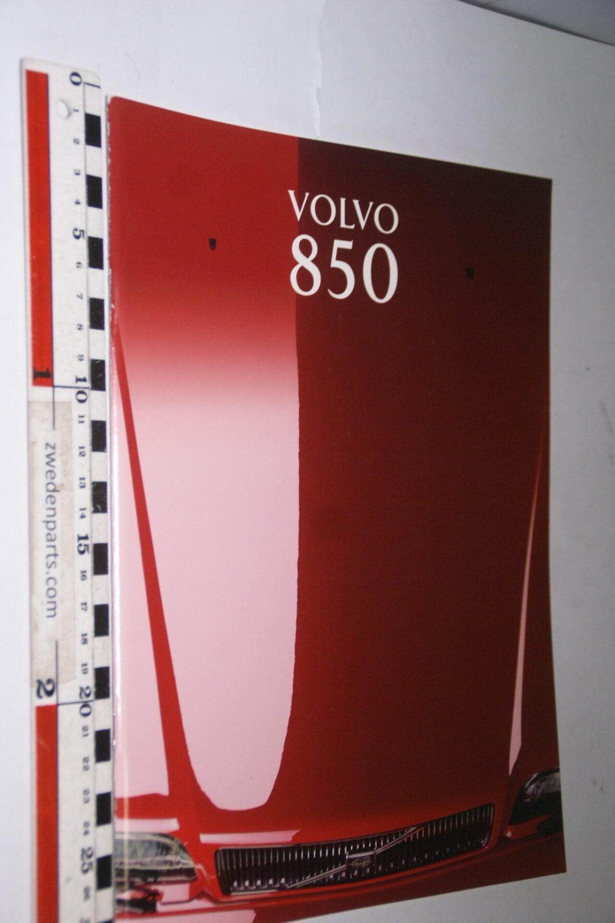 DSC05296 1993 originele brochure Volvo 850 nr MSPV 5615-a97b83b4