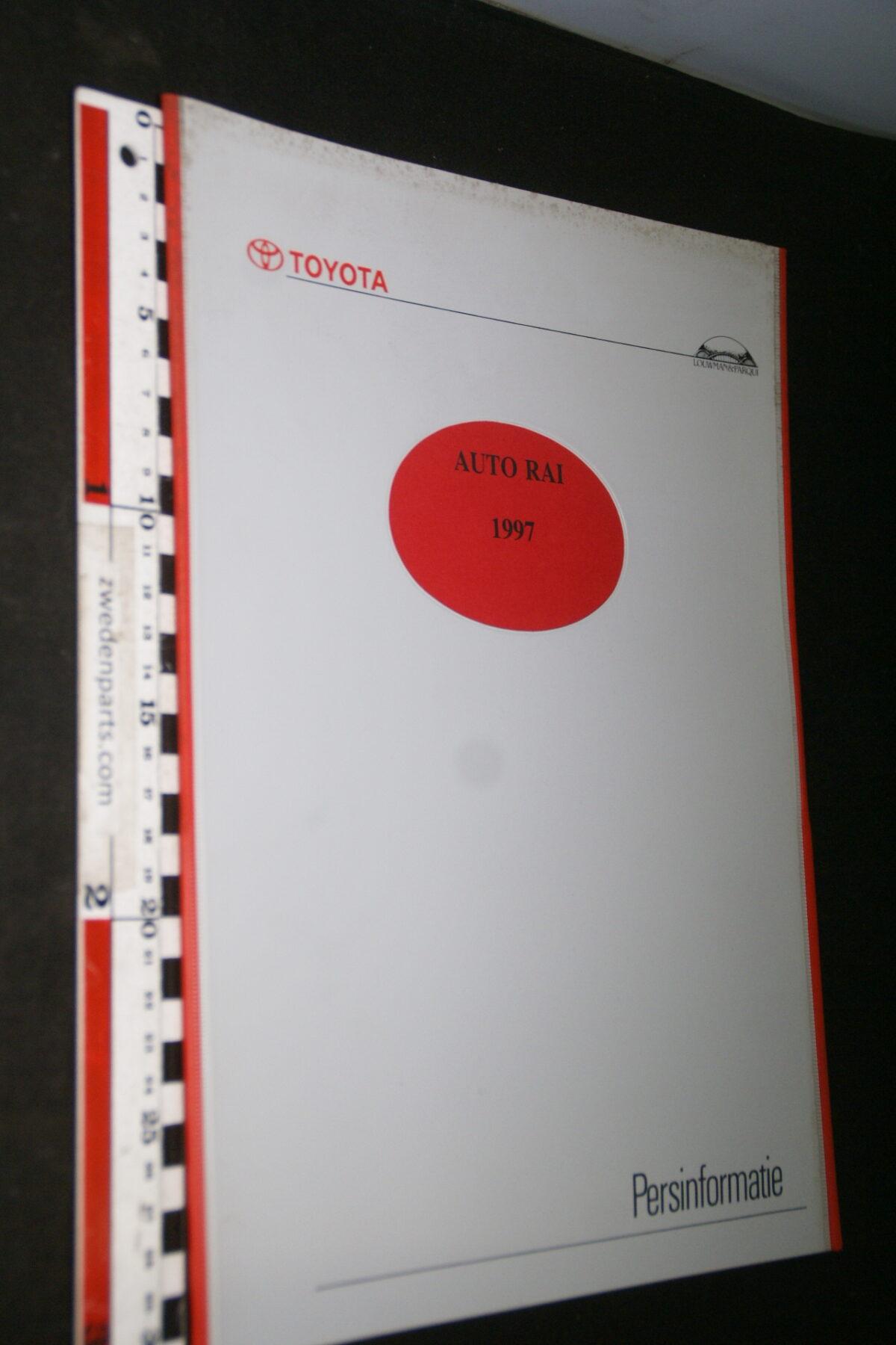 DSC05304 1997 originele RAI persmap Toyota-e685c226