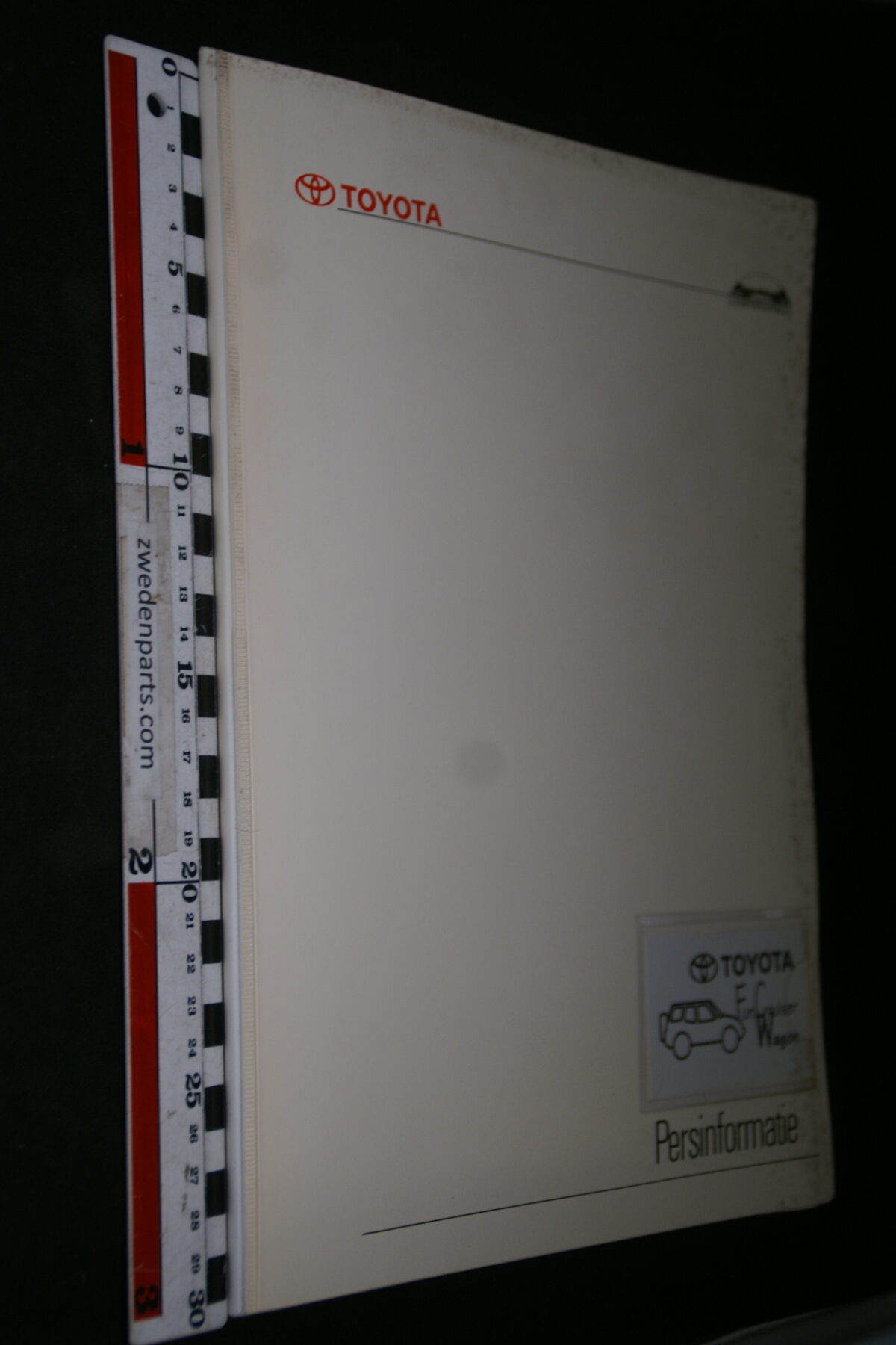 DSC05317 1995 originele RAI persmap Toyota Wagon-6701fbcc