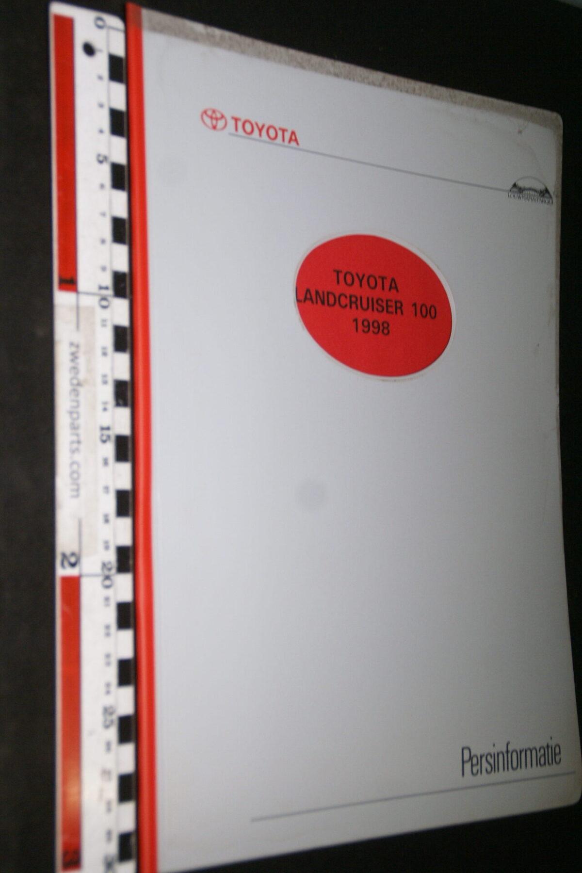 DSC05319 1998 originele RAI persmap Toyota Landcruiser-668f2fca