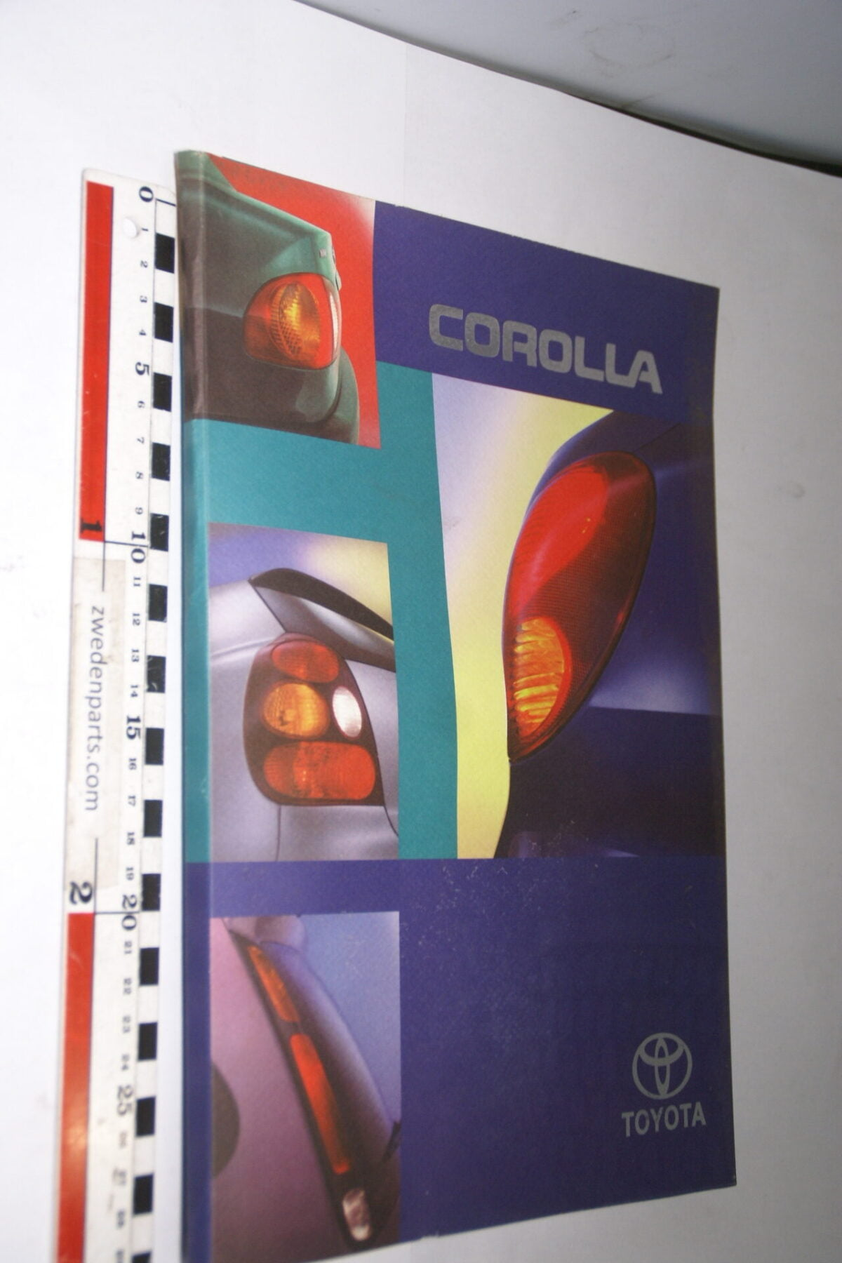 DSC05327 1997 originele RAI persmap Toyota Corolla-441a003a