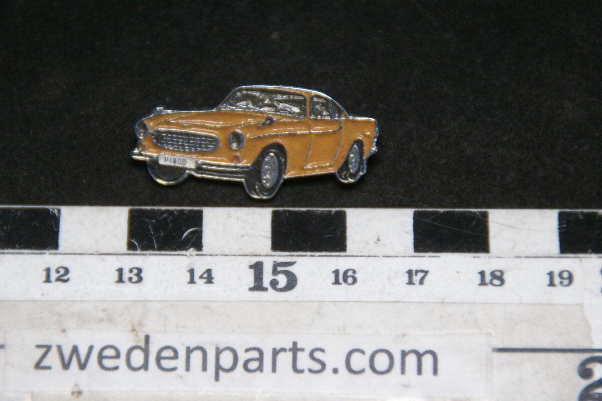DSC05433 originele Volvo 1800S geel pin-beda8b78