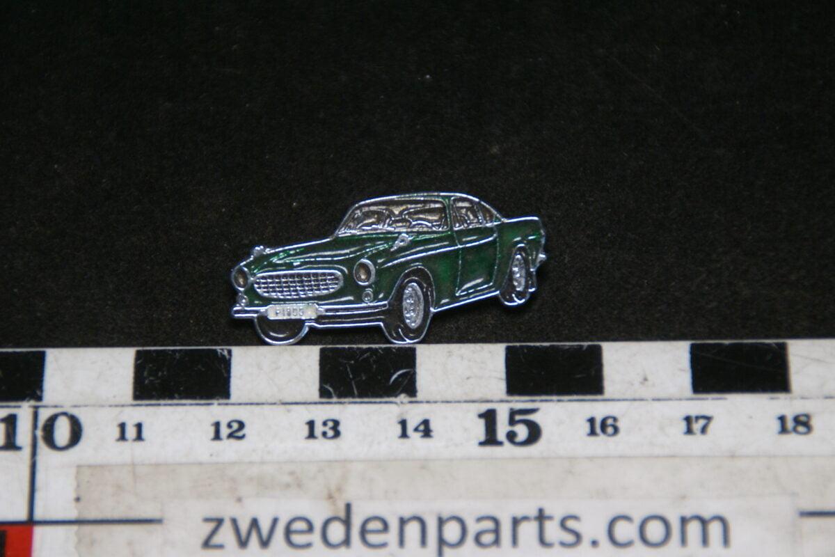 DSC05435 originele Volvo 1800S groen mertallic pin-ced70a2a