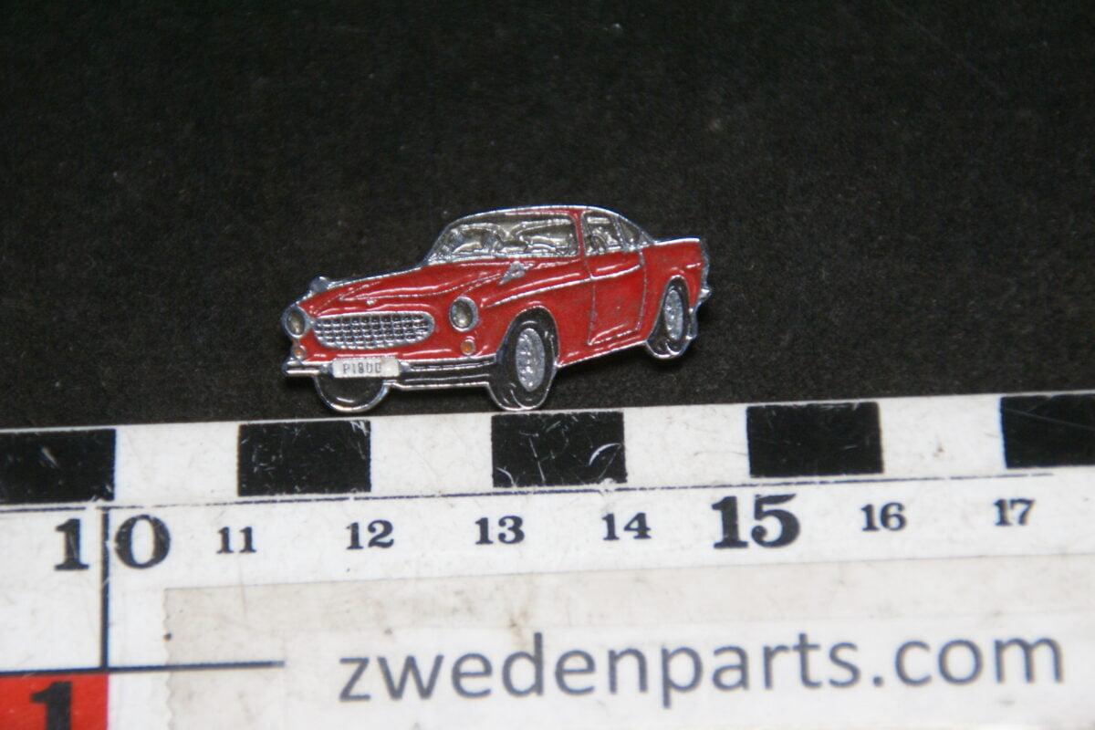 DSC05436 originele Volvo 1800S rood pin-0595bfdb