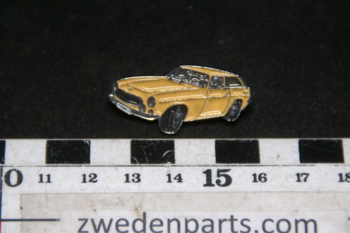 DSC05440 originele Volvo  1800ES geel pin-9d27bd14