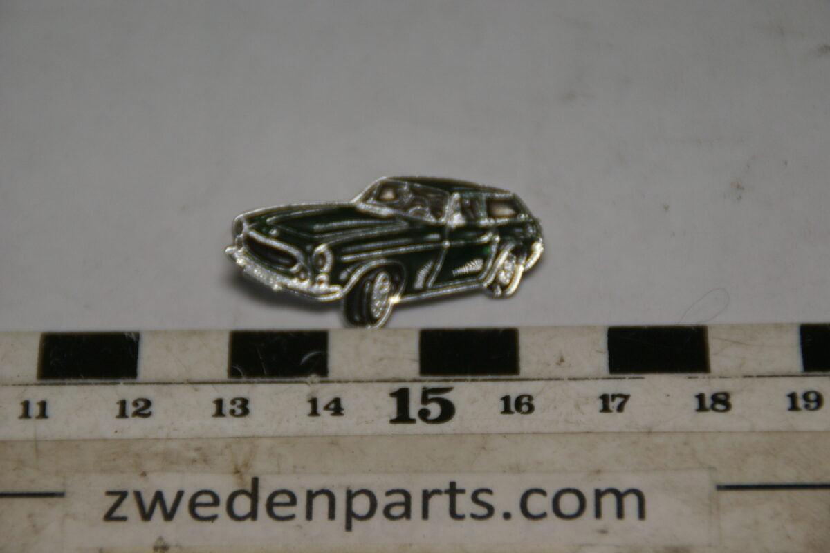 DSC05442 originele Volvo  1800ES groen metallic pin-53e35af2