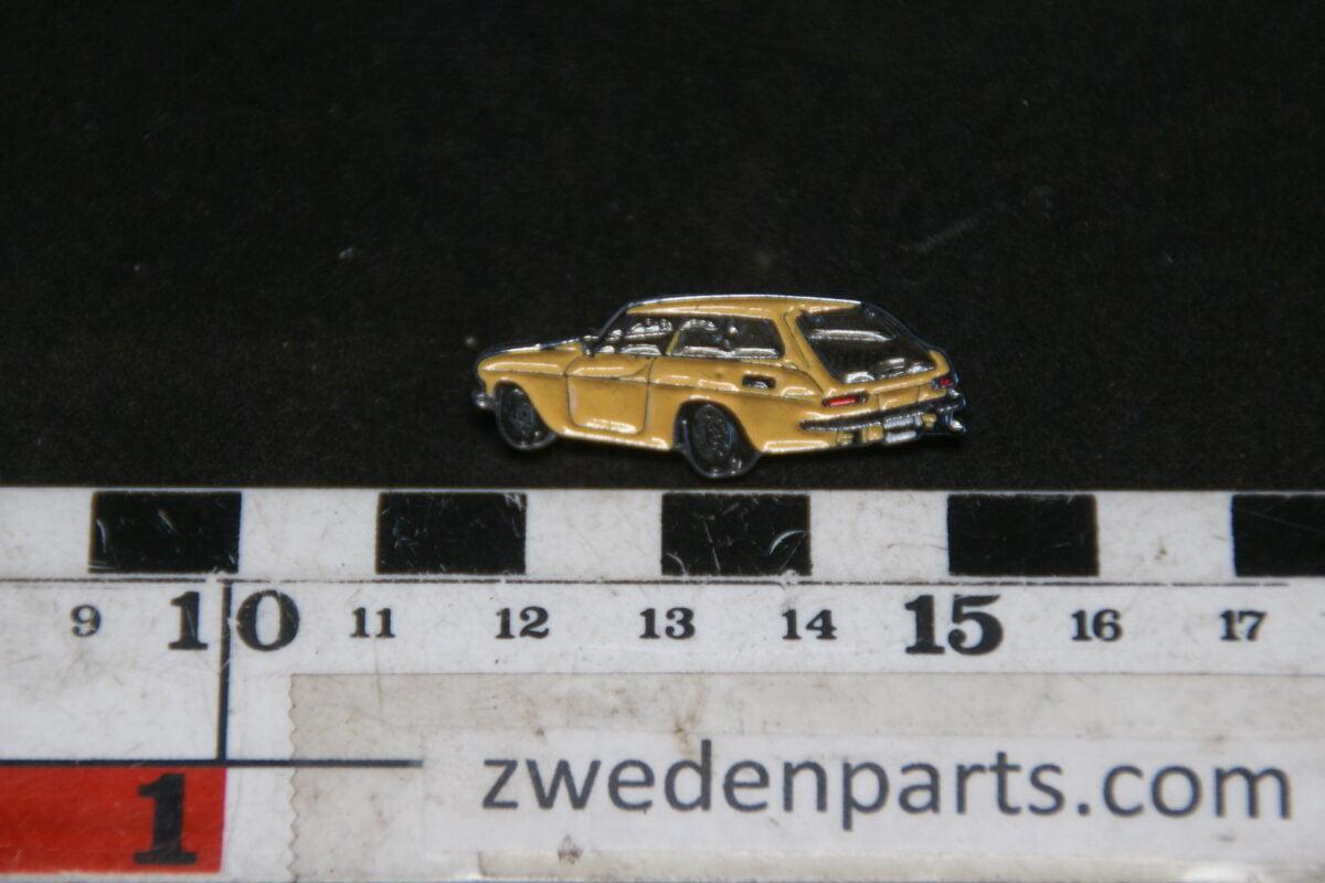 DSC05448 originele Volvo  1800ES geel pin-f193f6d2