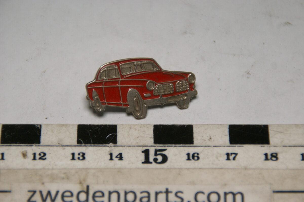 DSC05460 originele Volvo Amazon  rood pin-f34ce5ea