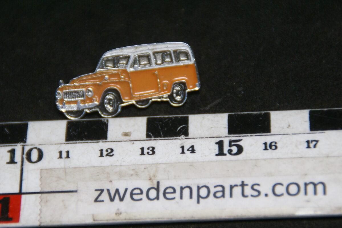 DSC05502 originele Volvo 210 Duett oranje wit pin-44cc456c
