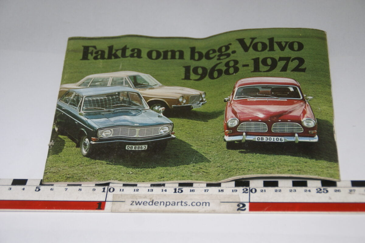DSC06167 1973 brochure Facts about used Volvos, nr RSPPV 766, Svenska-9cfedf7c