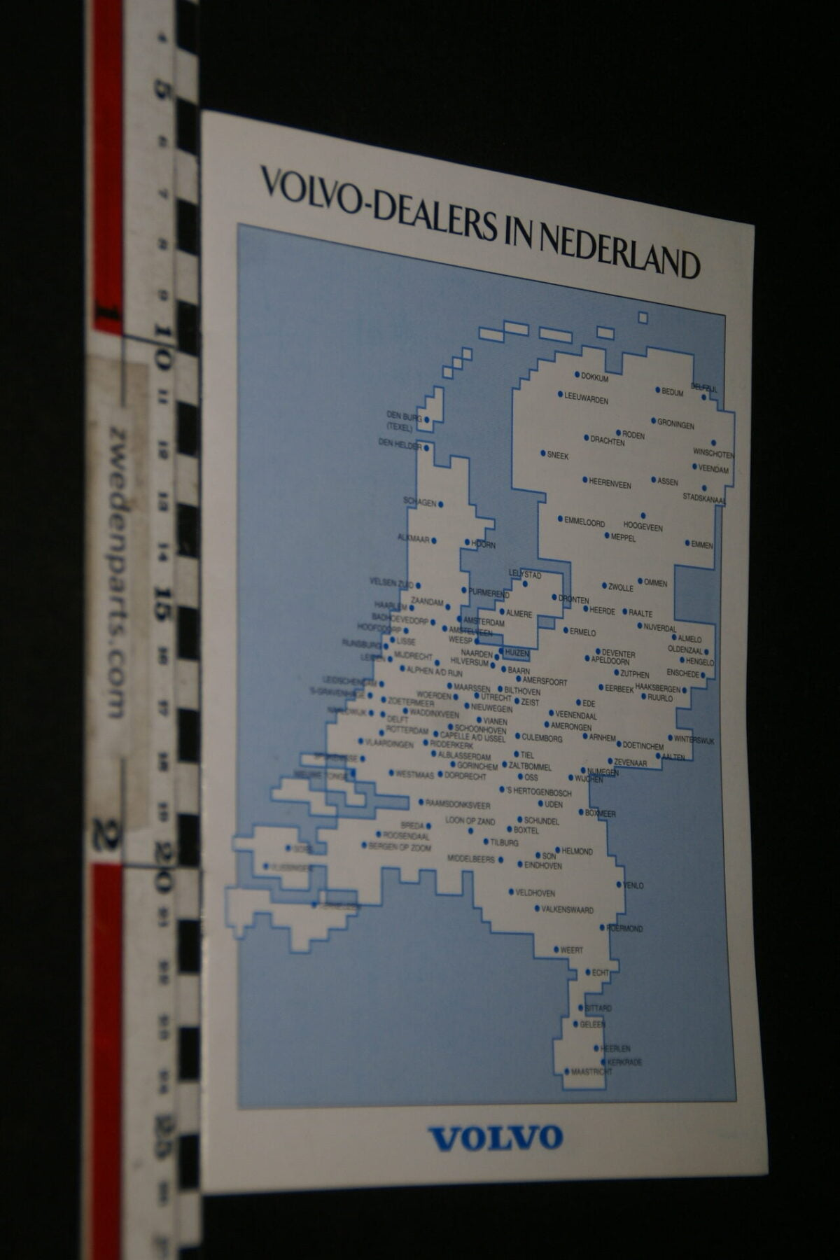 DSC06174 1995 brochure Volvo Dealers in Nederland, nr. Okt 9510-08-9cb55284