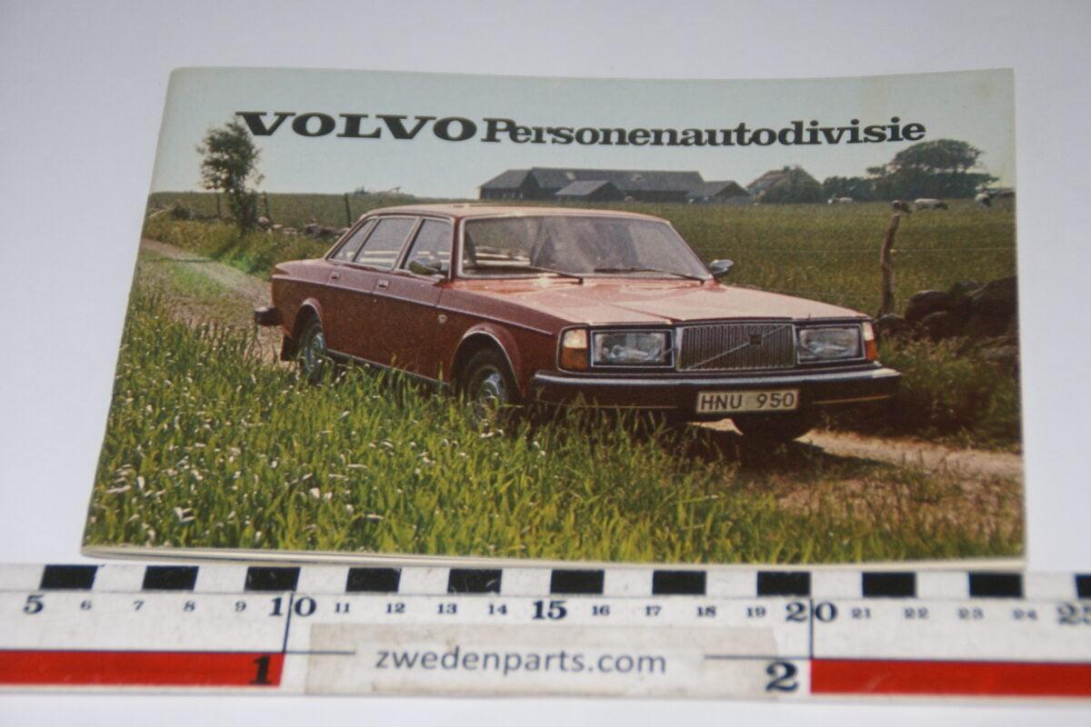 DSC06194 ca. 1976 origineel boekje Volvo Personenautodevisie-80063438