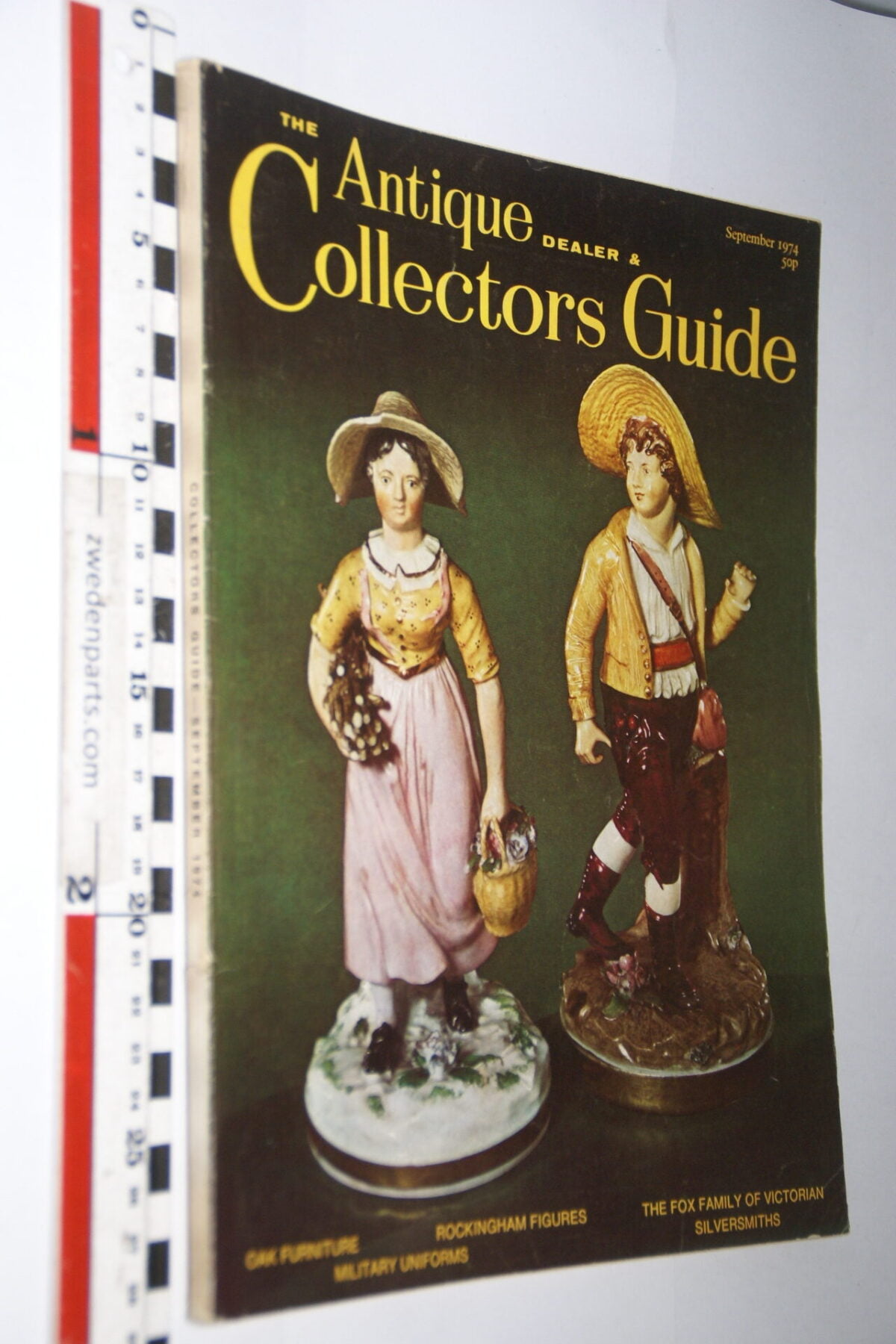 DSC06230 1974 september tijdschrift Antique Collectors Guide, English-a606b800