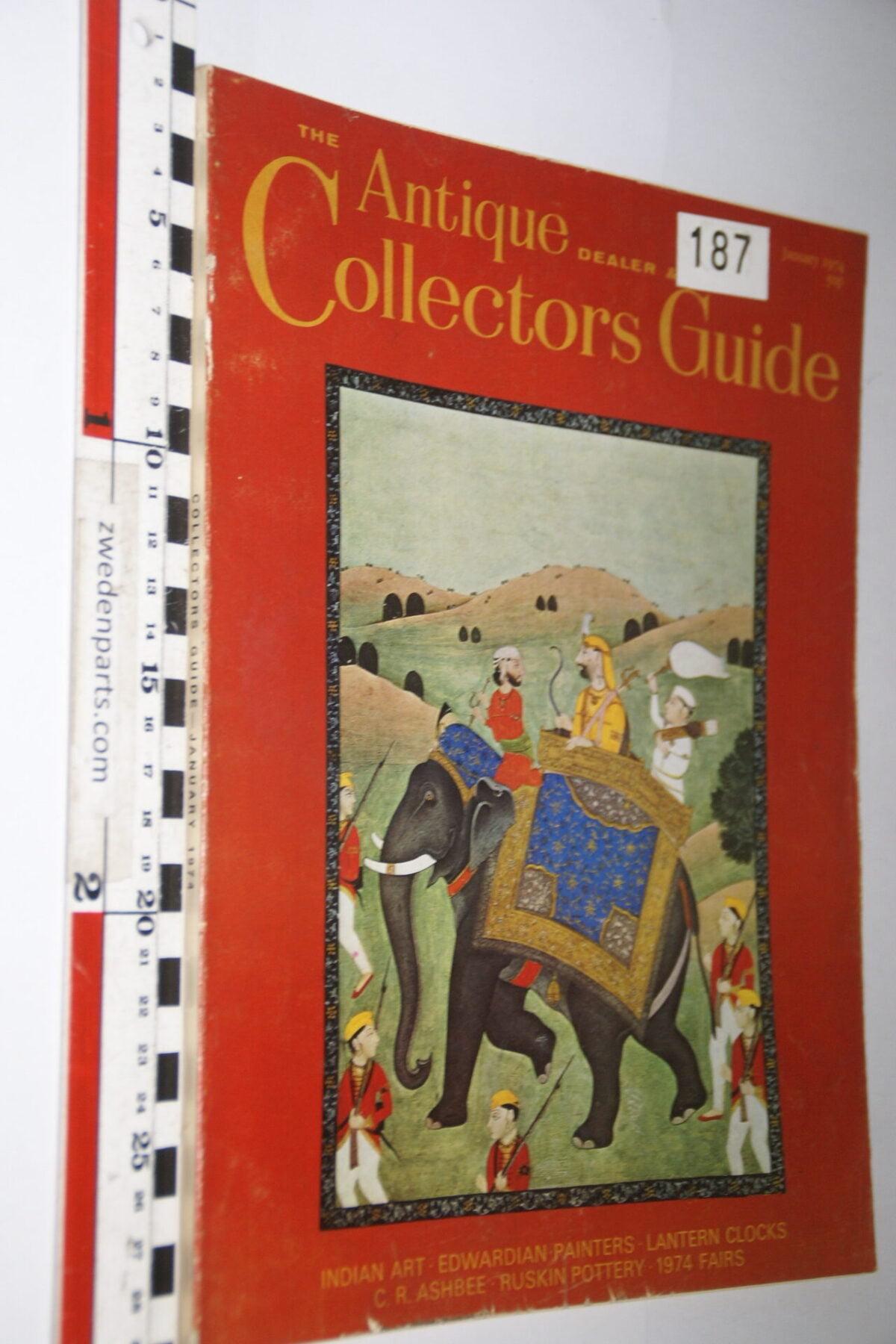 DSC06238 1974 januari tijdschrift Antique Collectors Guide, English-2fb57076