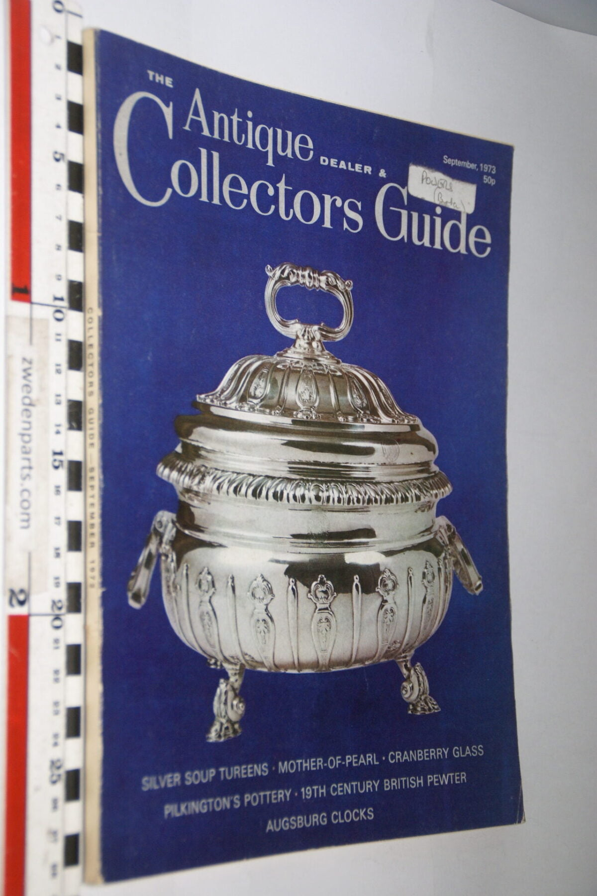 DSC06242 1973 september tijdschrift Antique Collectors Guide, English-dda44f29