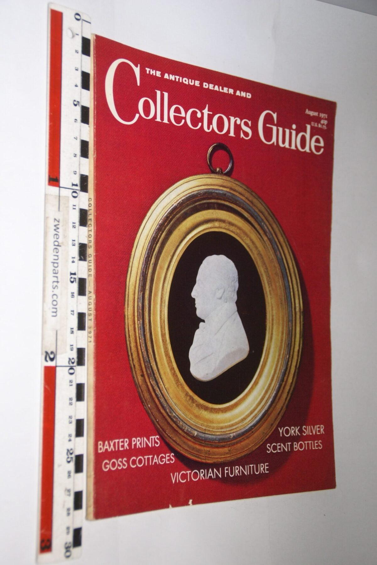 DSC06254 1971 augustus tijdschrift Antique Collectors Guide, English-3ad744a9