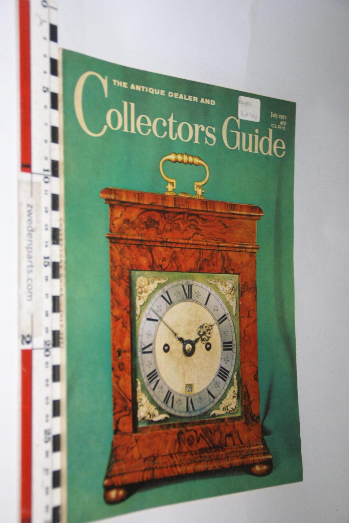 DSC06256 1971 juli tijdschrift Antique Collectors Guide, English-5e3a00a4