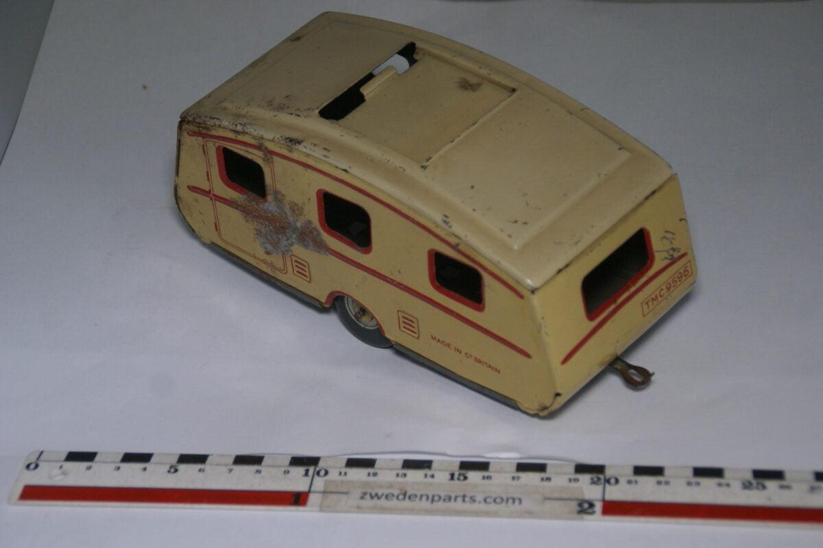 DSC06285 50er jaren blikken caravan met schuifdak, made in Gt. Britain-05f830ec