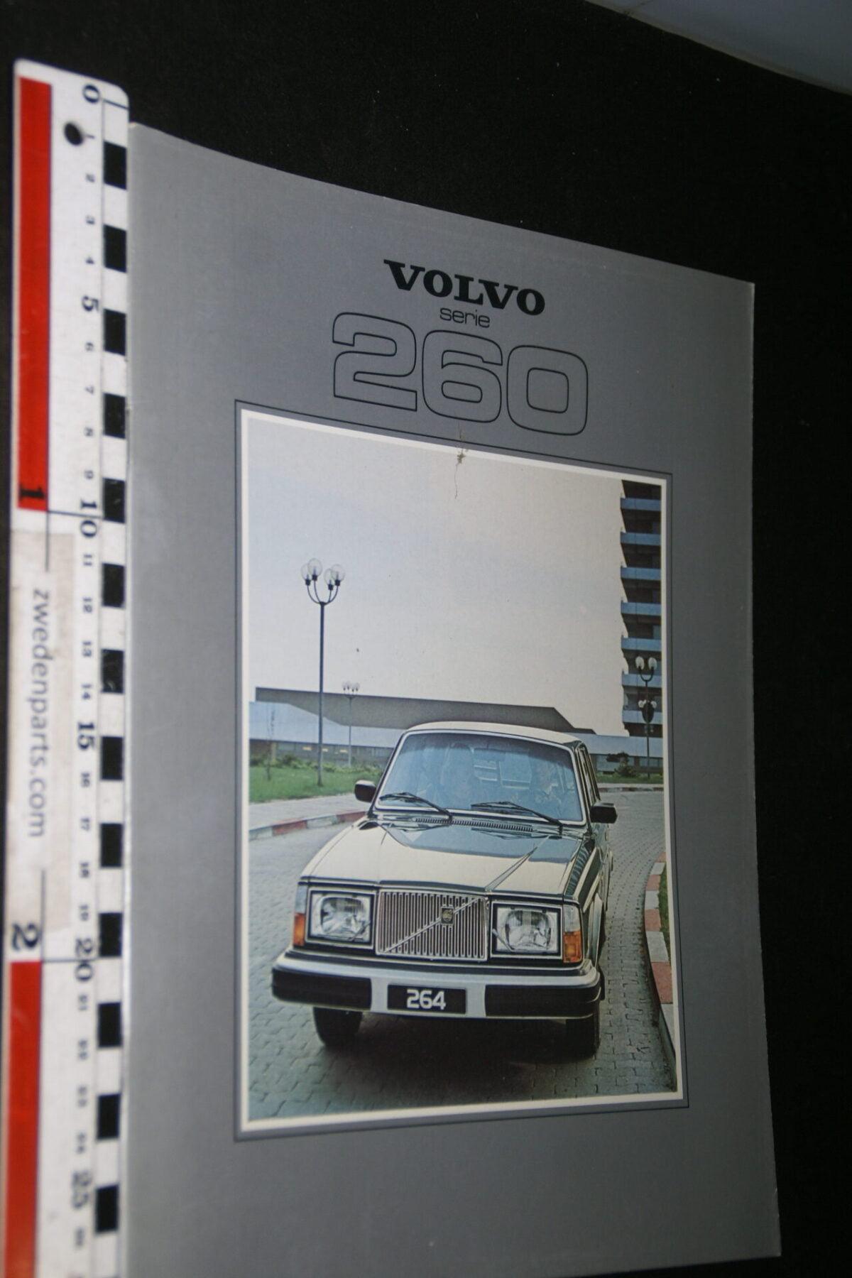 DSC06758 1979 originele brochure Volvo serie 260  met 262C nr. ASPPV 6551-87b63b79