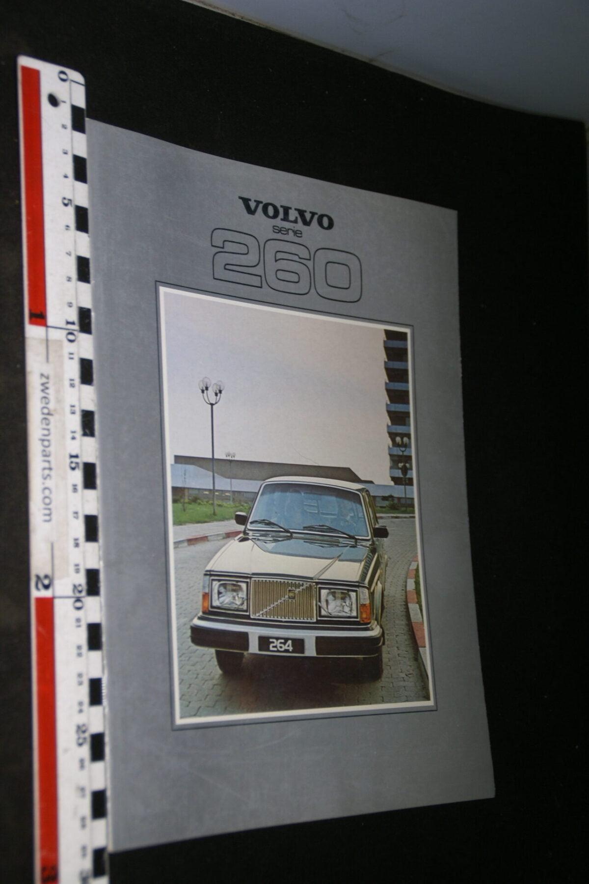 DSC06761 1979 originele brochure Volvo serie 260  met 262C nr. ASPPV 6551-2-957710c4