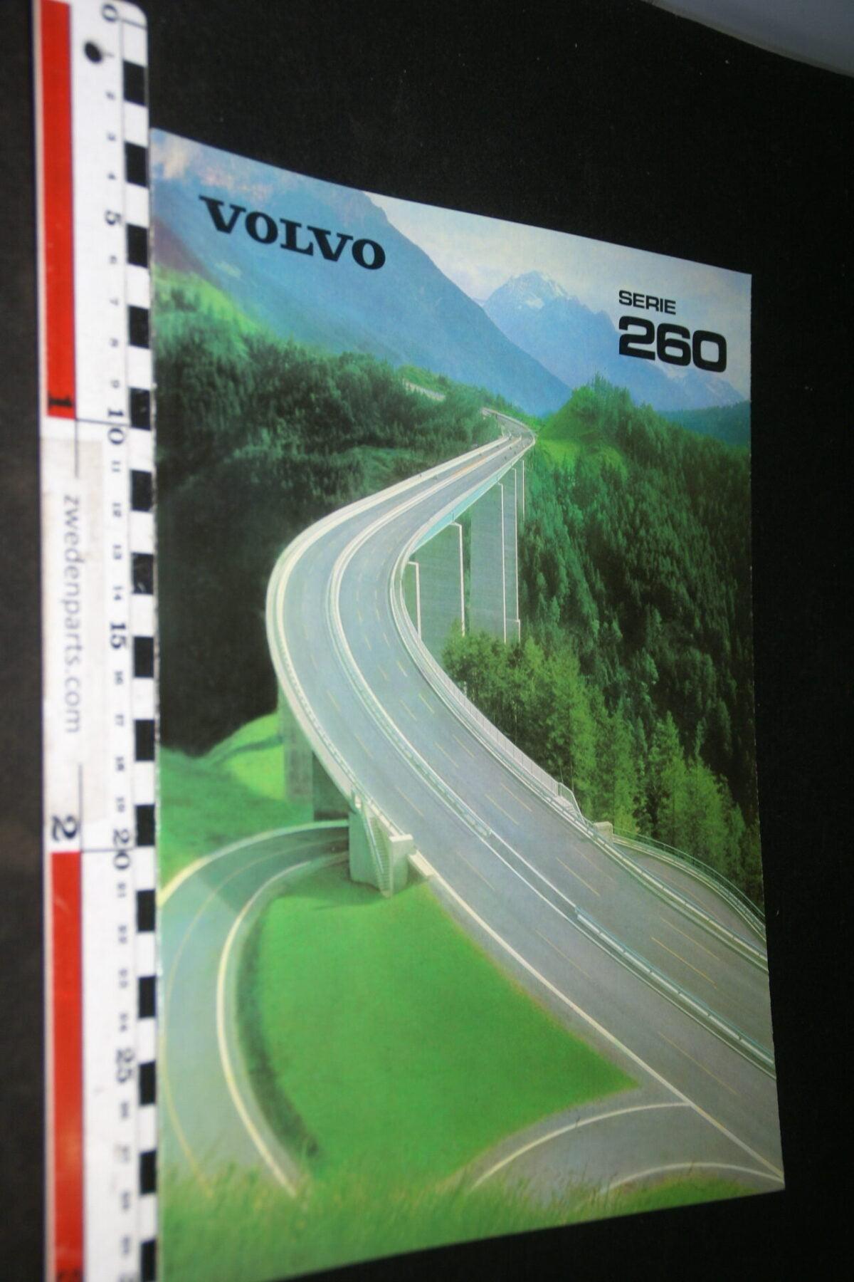 DSC06764 1980 originele brochure Volvo serie 260  met 262C nr. ASPPV 7562-99a22155