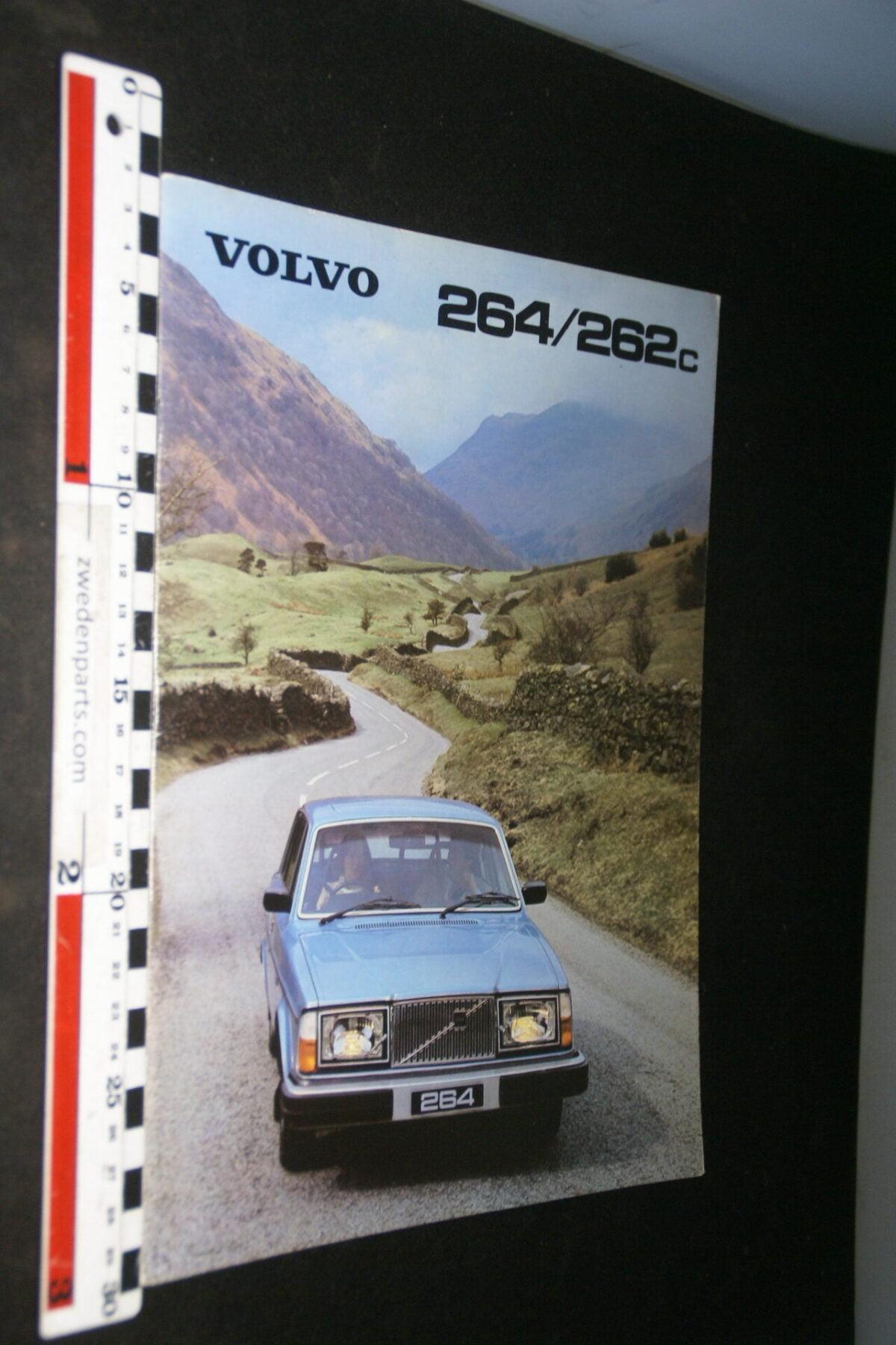DSC07349 1980 originele Volvo 262C 264 brochure nr ASPPV 7563 English-60a3f3fb