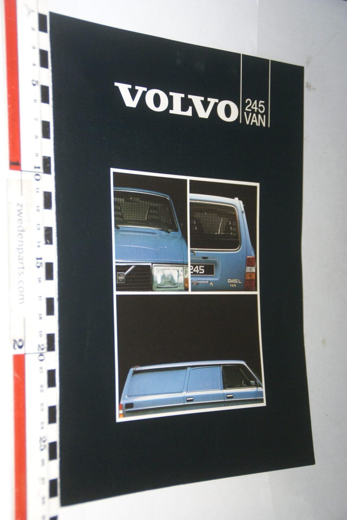 DSC07620 ca. 1985 originele brochure Volvo 245 VAN-df00ab86