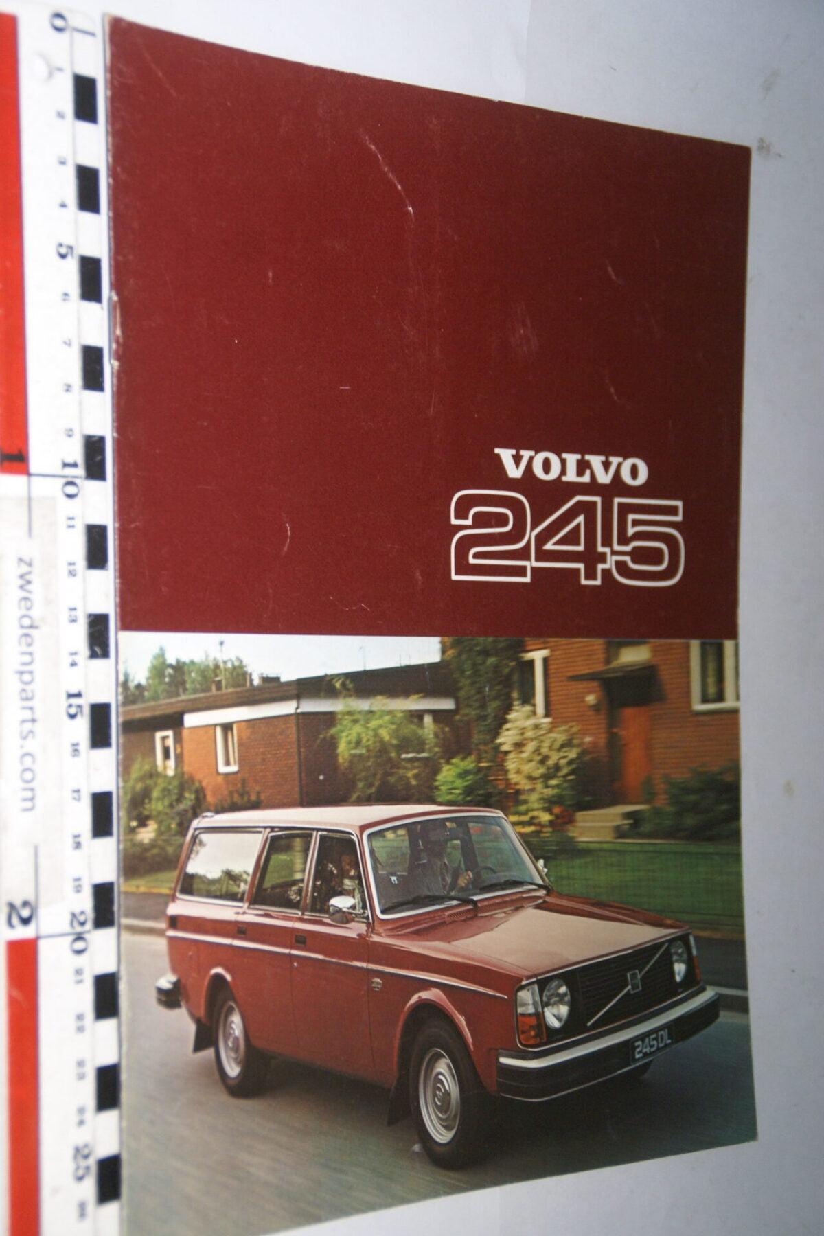 DSC07629 1977 originele brochure Volvo 245 nr RSPPV 4051-baf22896