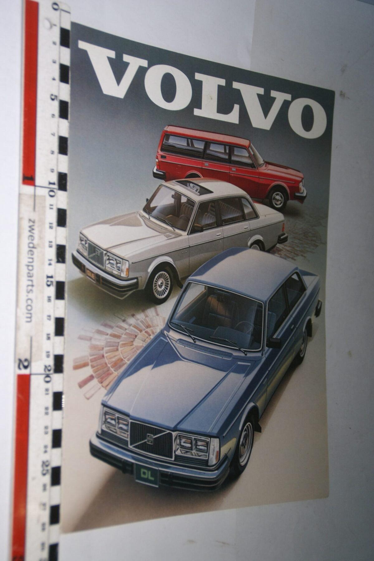 DSC07635 ca 1980 originele brochure Volvo 245 244 244GLT 242 nr ASP 031080200, English-4305ef69