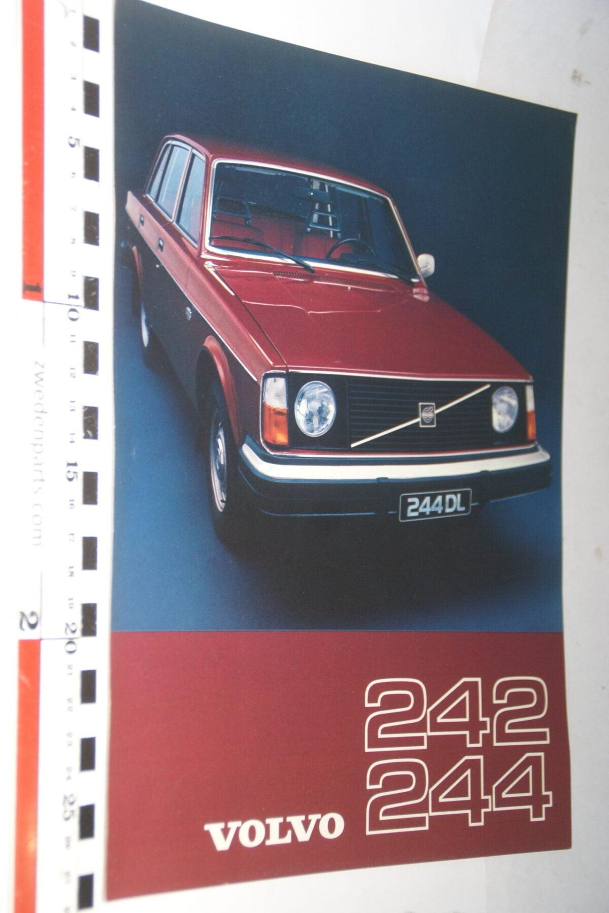 DSC07663 1976 originele brochure Volvo 242 244 nr RSPPV 2911-5b8d07bc