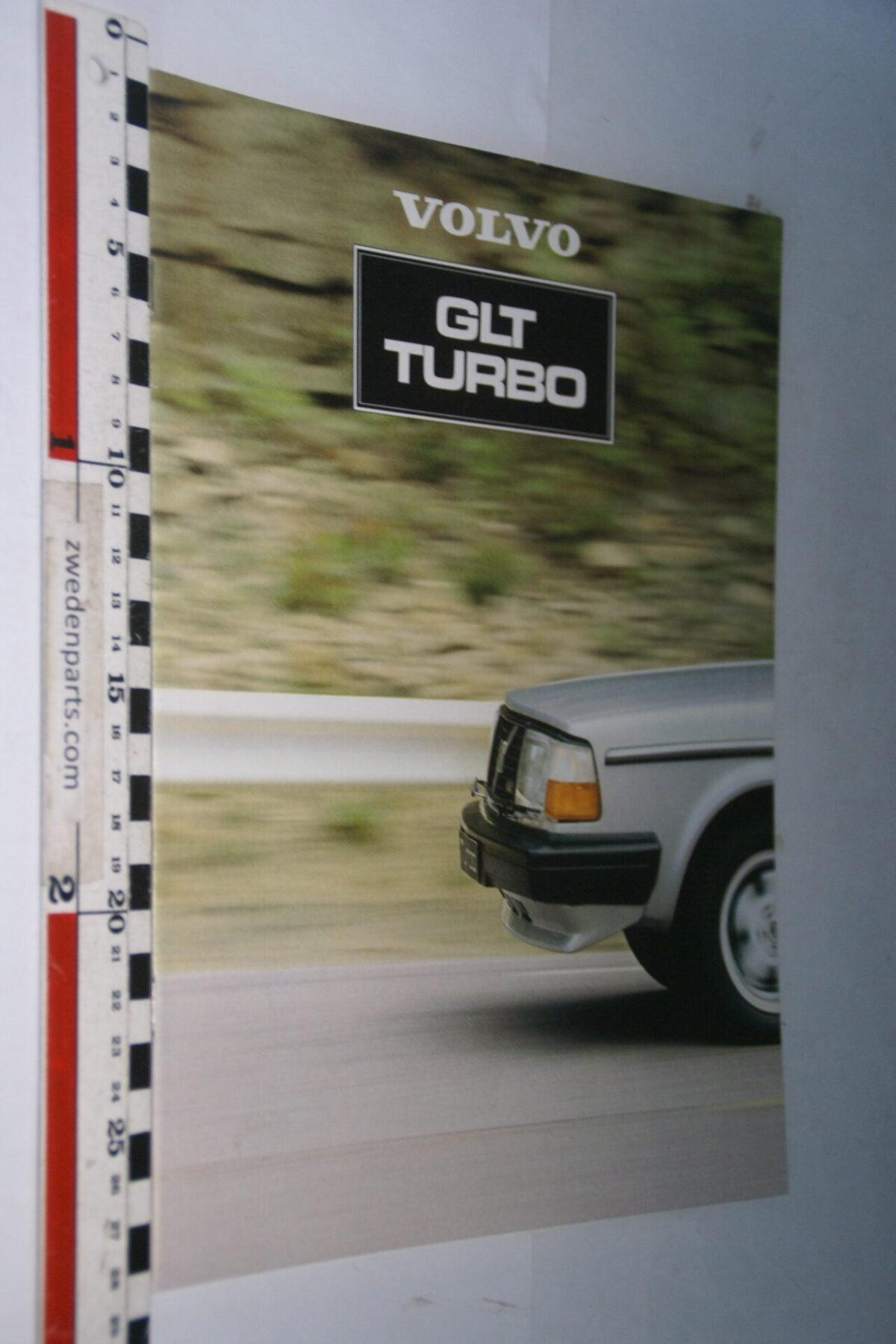 DSC07638 1981 originele brochure Volvo 244GLT Turbo nr ASPPV 8640, Svenska-abb8f260