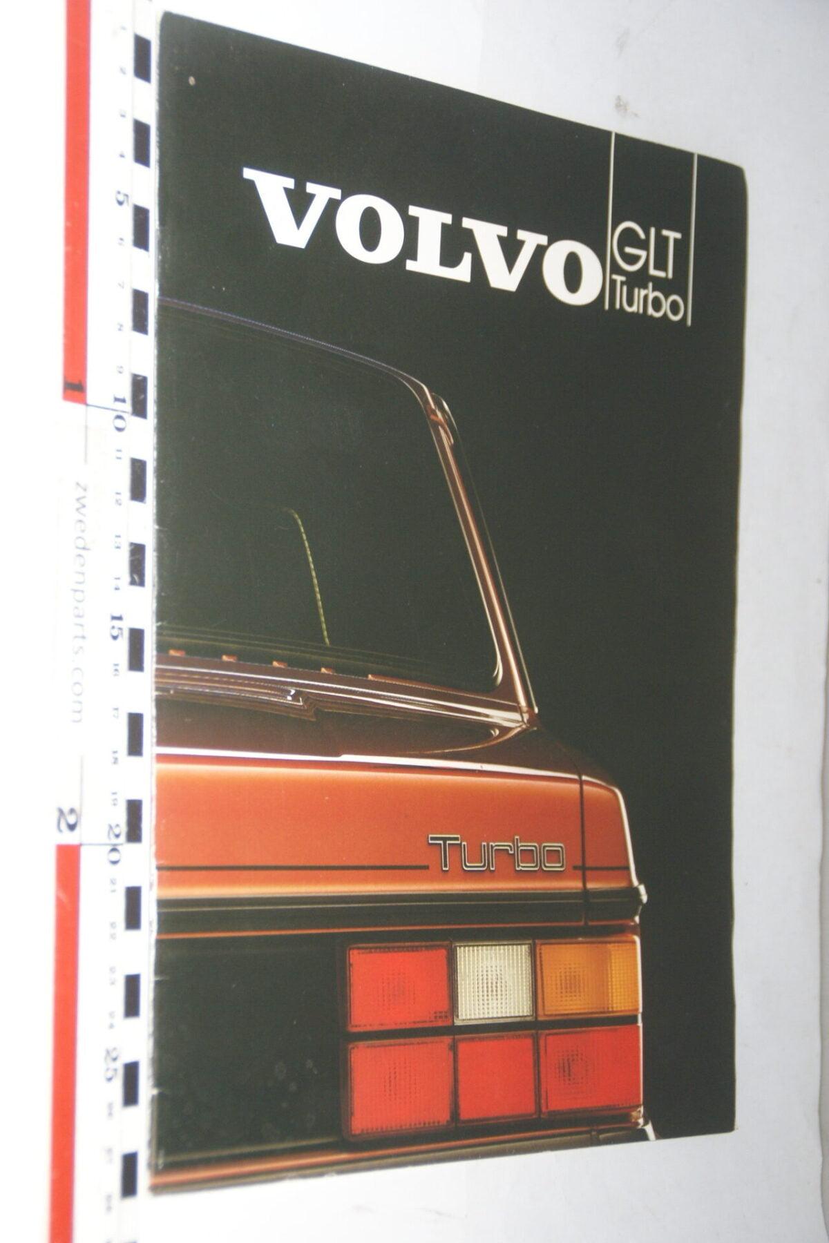 DSC07644 1982 originele brochure Volvo 244GLT Turbo nr ASPPV 9720-2, Svenska-d2ada464