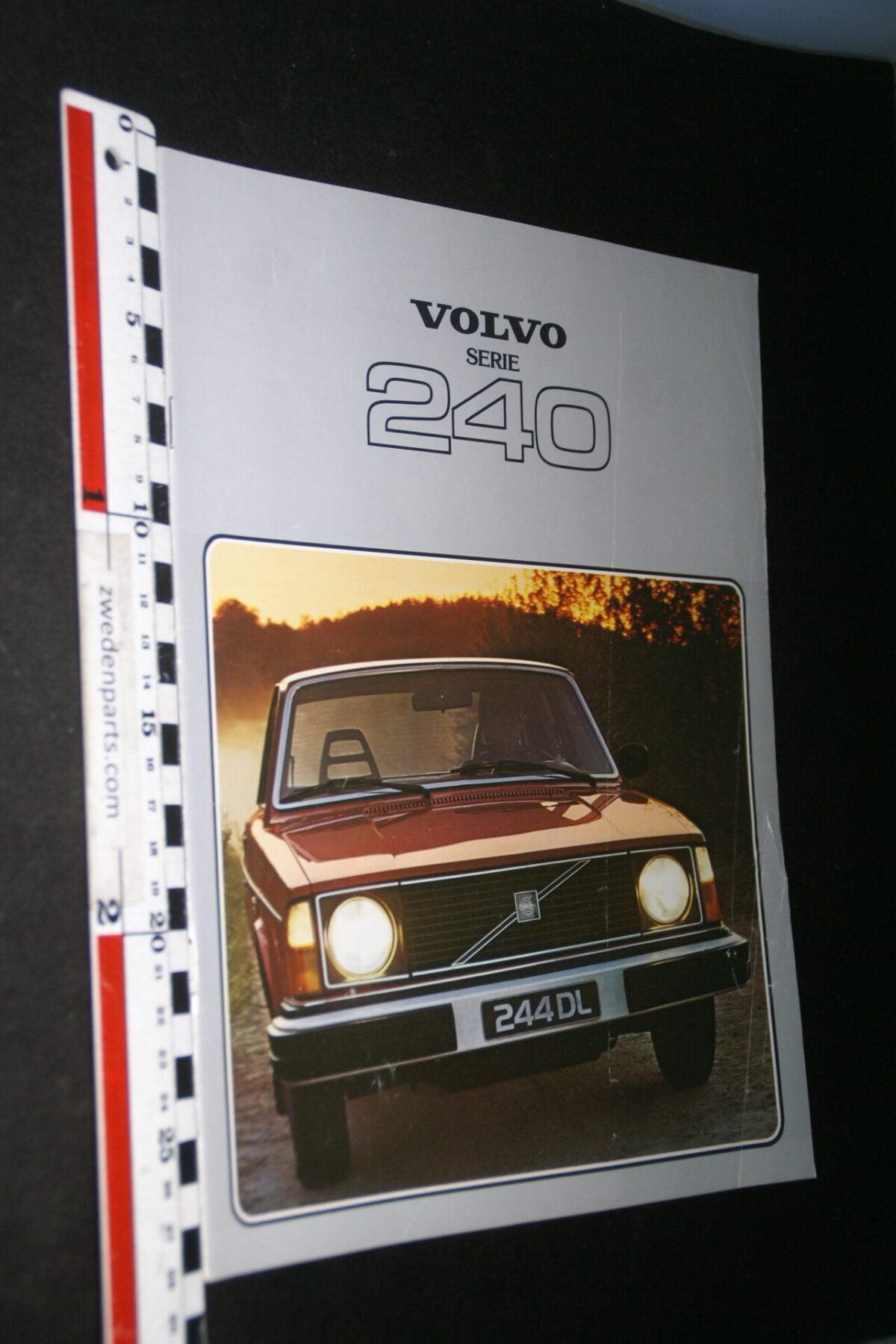 DSC07688 1978 originele brochure Volvo 242 244 245 nr RSPPV 5270-9b50639a