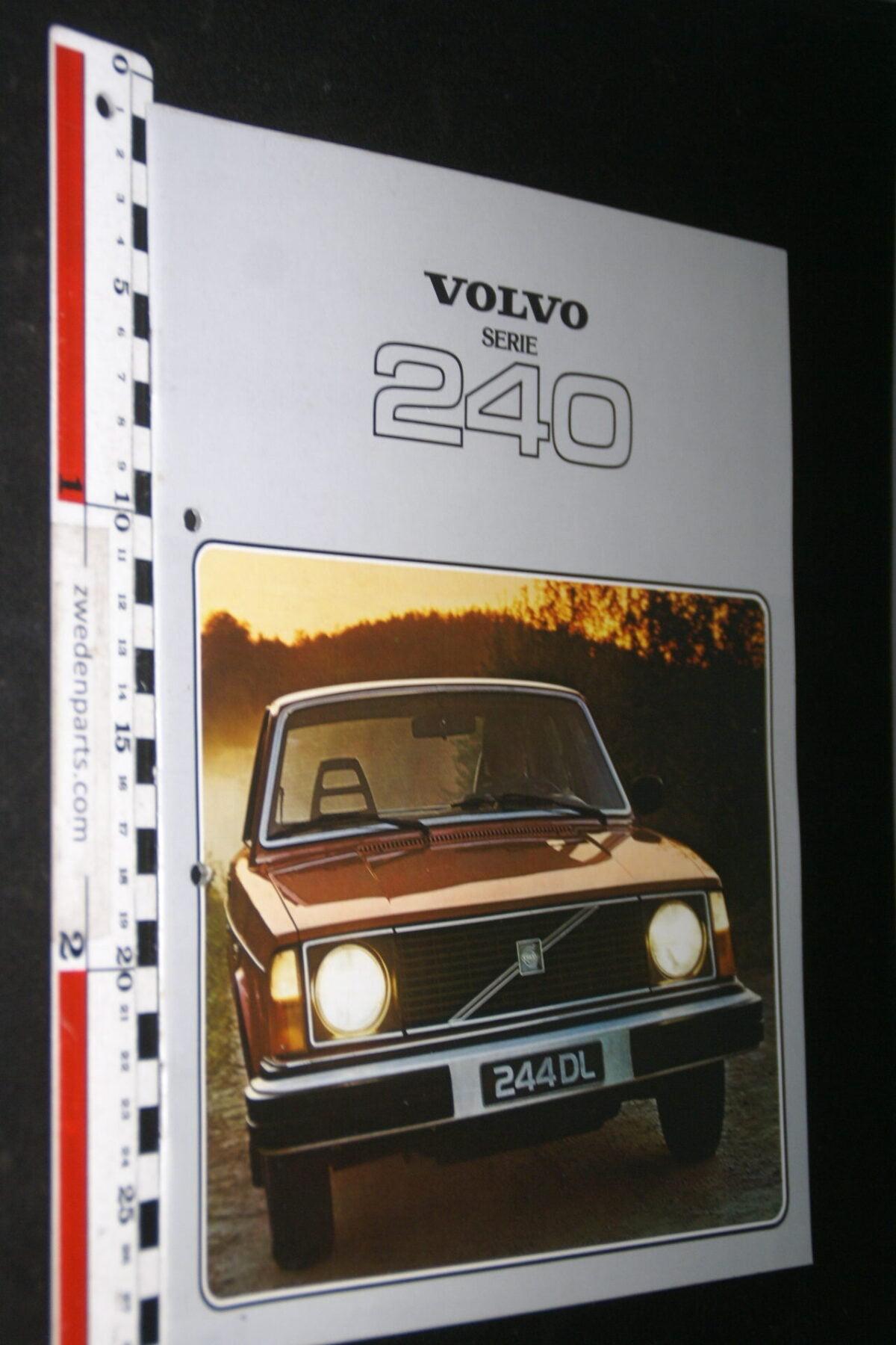 DSC07691 1978 originele brochure Volvo 242 244 245 nr RSPPV 5270-2-9125e754