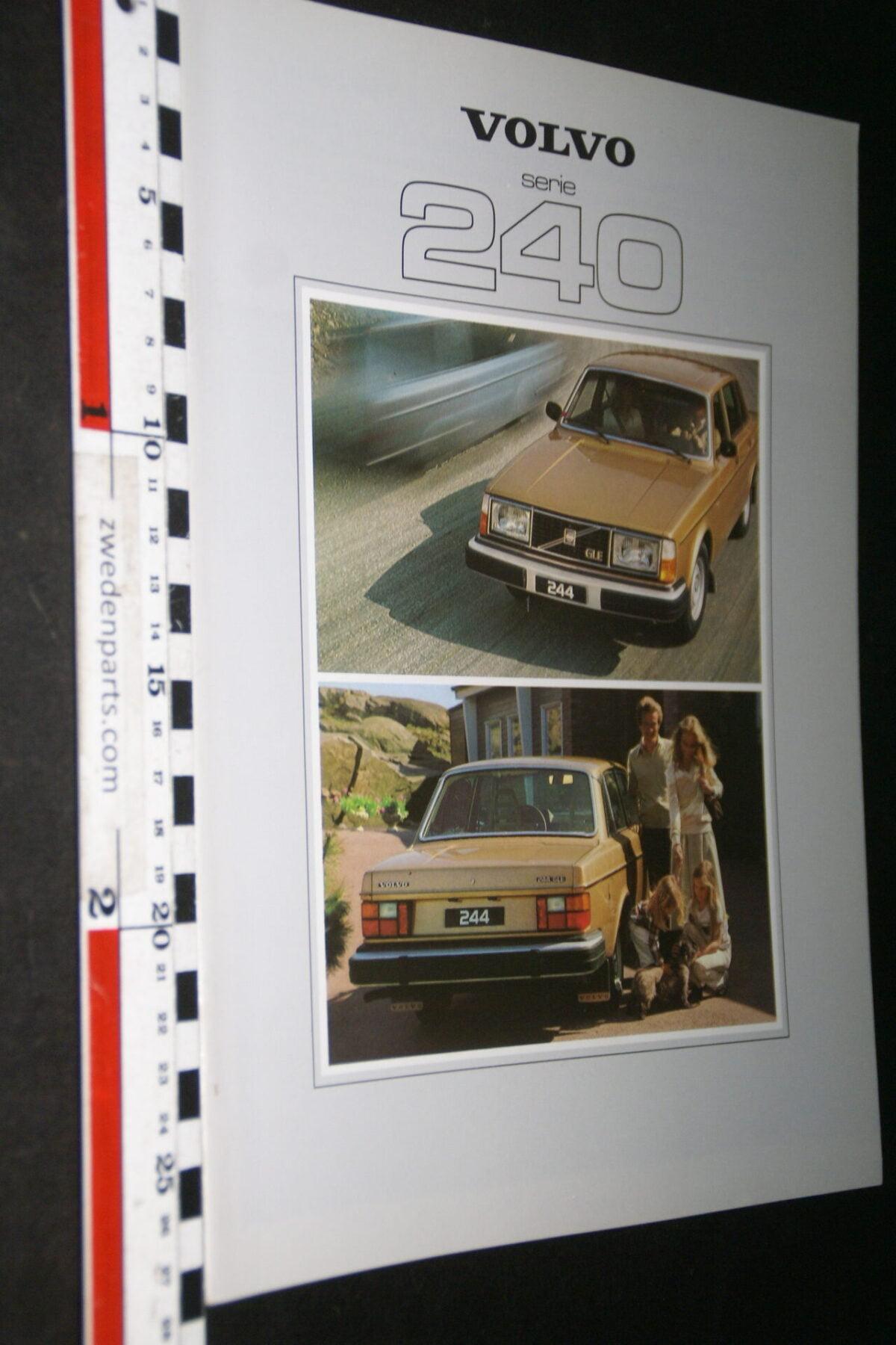 DSC07694 1979 originele brochure Volvo 242 244 245 nr ASPPV 6882-0658f4c0