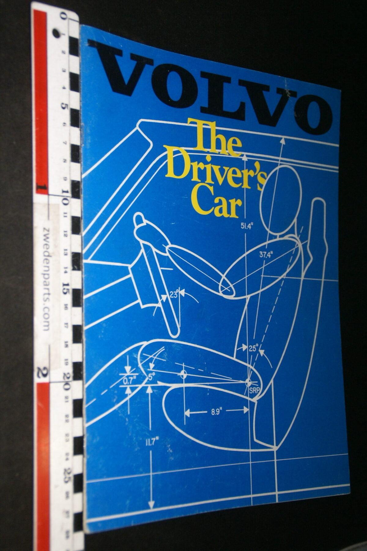 DSC07700 1981 originele brochure Volvo 242 244 245 GLT Turbo nr ASP 02 0281-250, USA-012f0b45