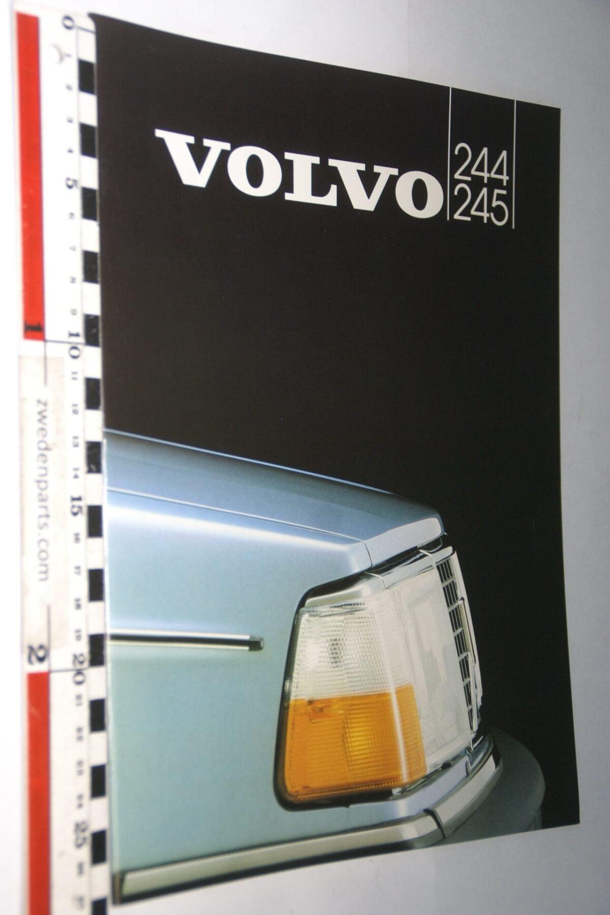 DSC07703 1982 originele brochure Volvo 244 245 nr ASPPV 9583-651c0f14
