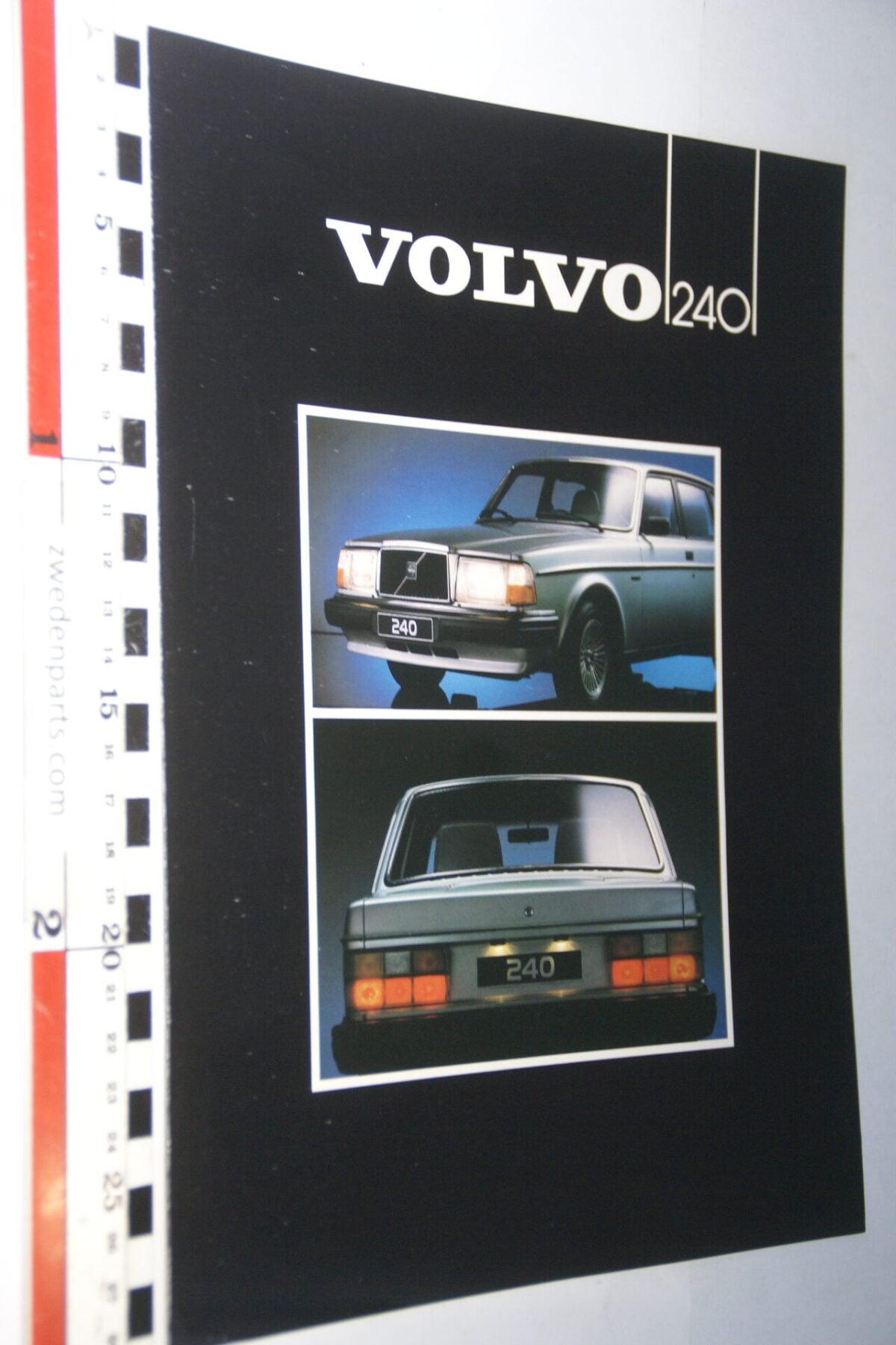 DSC07710 ca. 1982 originele brochure Volvo 244 245 nr ASP E 55035-7a173f07