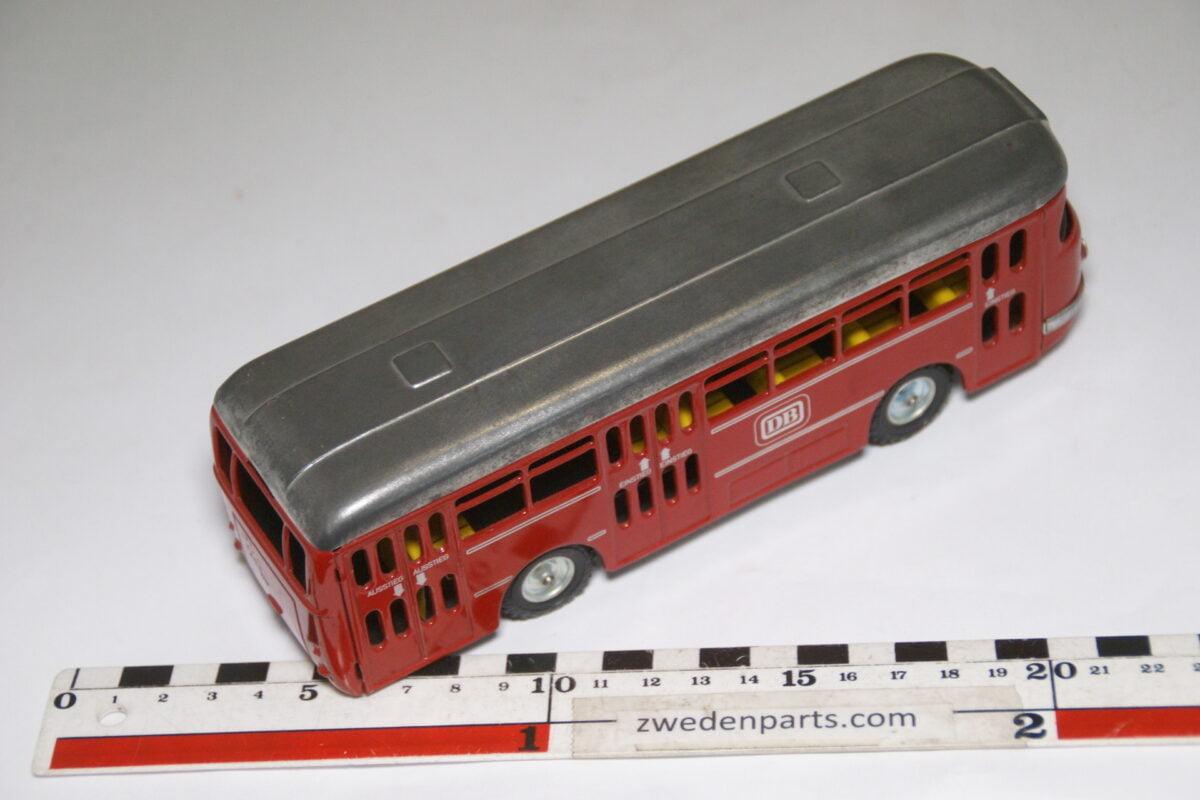 DSC07993 miniatuur CKO blikken bus rood grijs nr 411 nieuwstaat-acca7a98