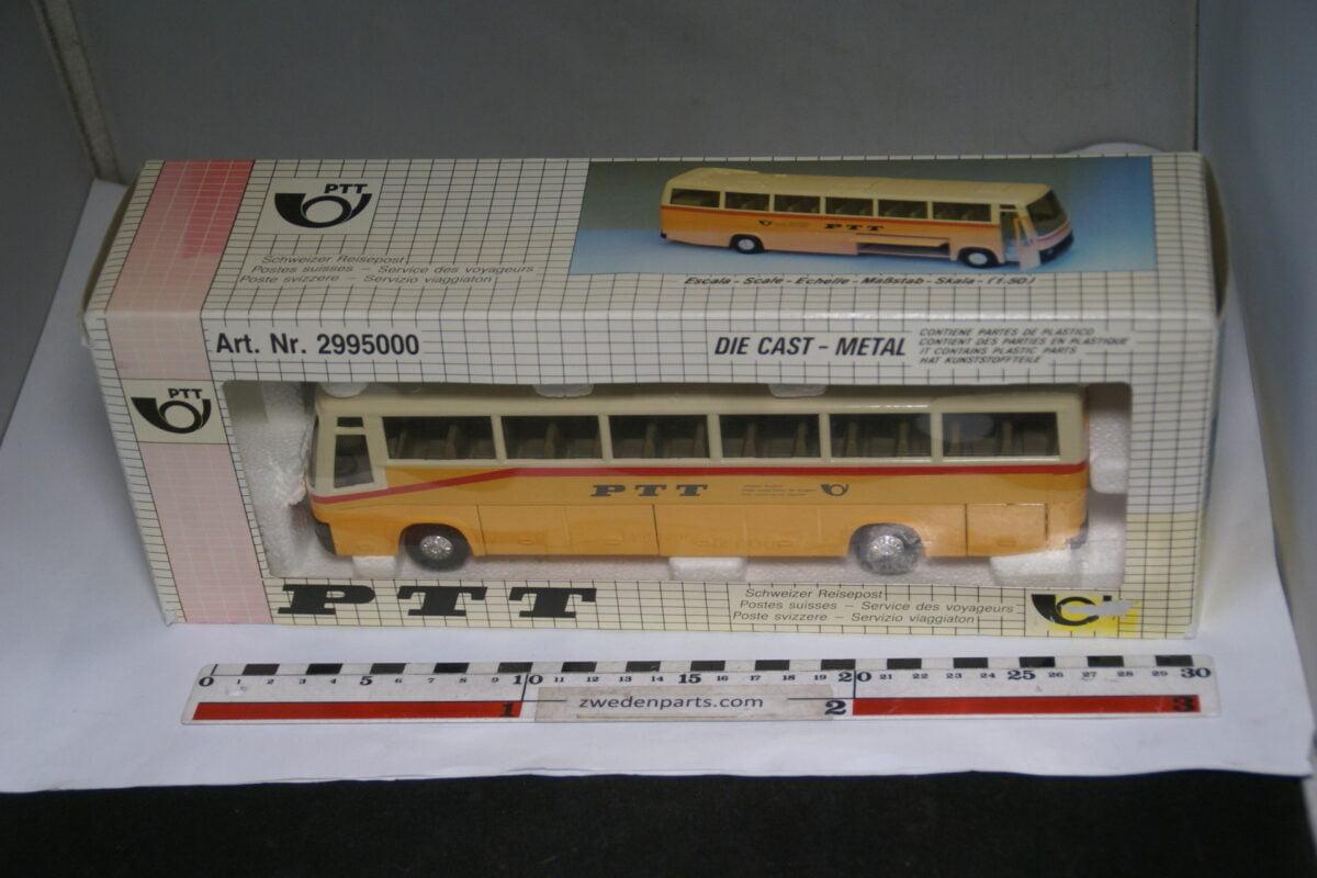 DSC07996 miniatuur Joal Volvo PTT bus geel beige nr 2995000 MB-f15229f1