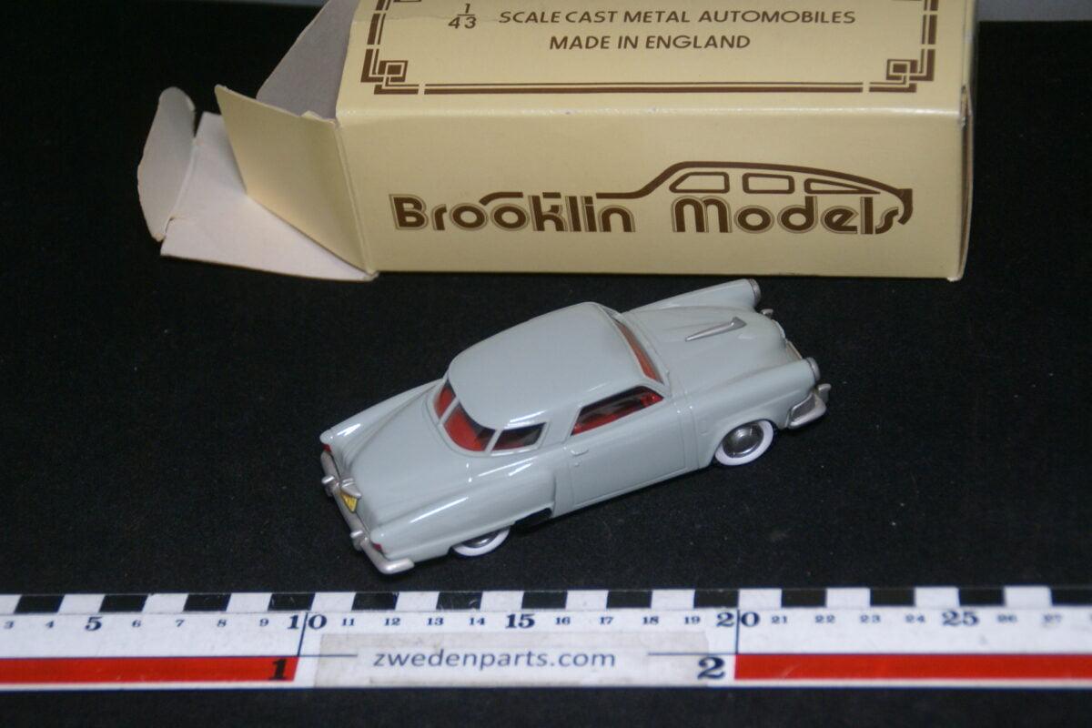 DSC08018 1952 miniatuur Brooklin Models Studebaker Champion Starlight coupé grijs 1op43 nr BRK 17 MB-187cca95