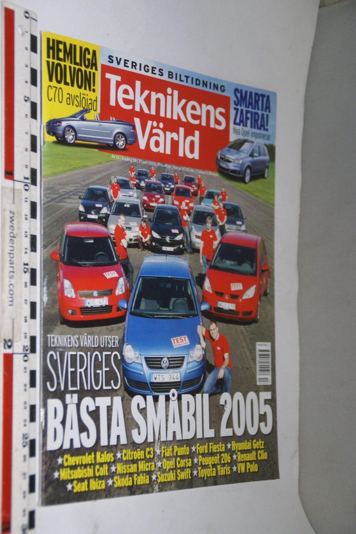 DSC08063 tijdschrift Teknikens Värld 21 juni 2005, Svenska-b694bdb1