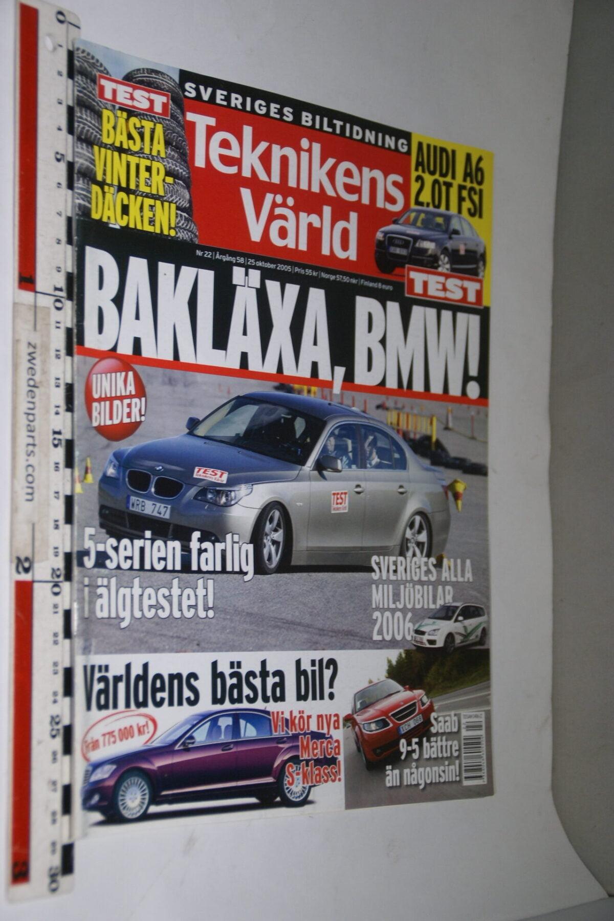 DSC08066 tijdschrift Teknikens Värld 25 oktober 2005, Svenska-18662bc2