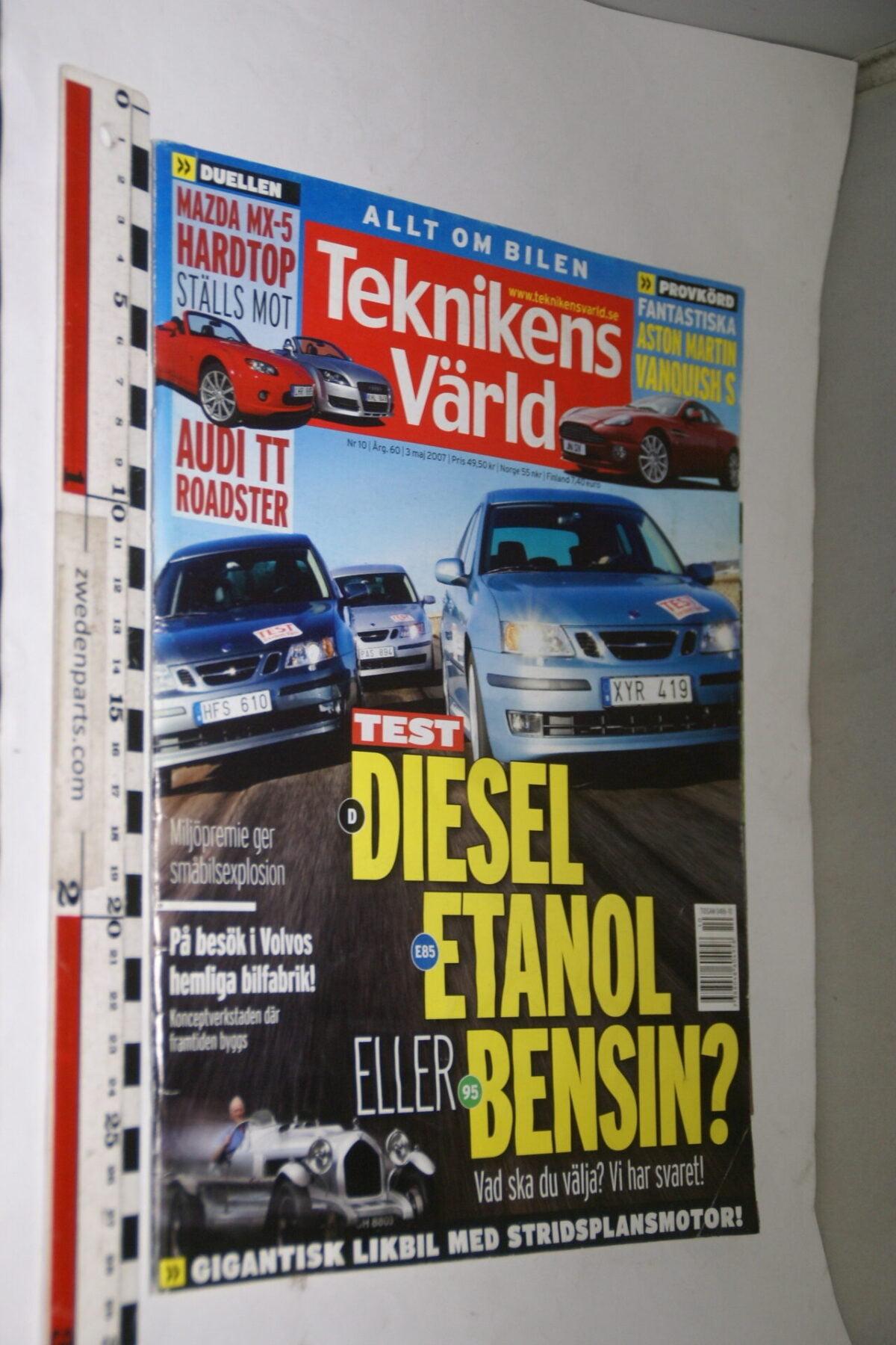 DSC08087 tijdschrift Teknikens Värld 3 mei 2007, Svenska-877a2cbc