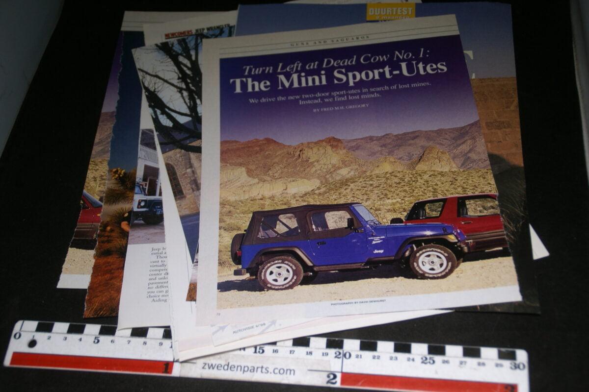 DSC08406 ca 1996 map met tijdschrift artikelen van Jeep Wrangler-15847e5e