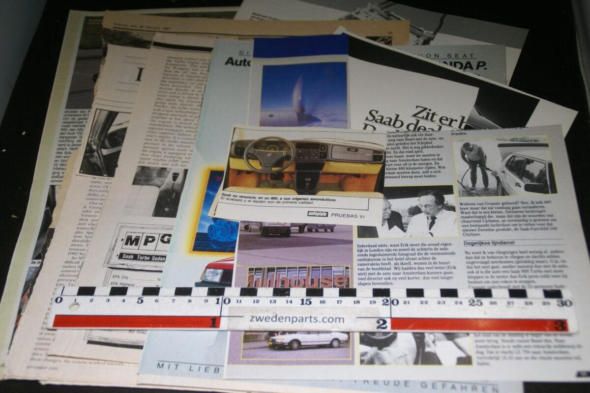 DSC08442 map met tijdschrift artikelen van SAAB 900 Turbo-fb7b7d92
