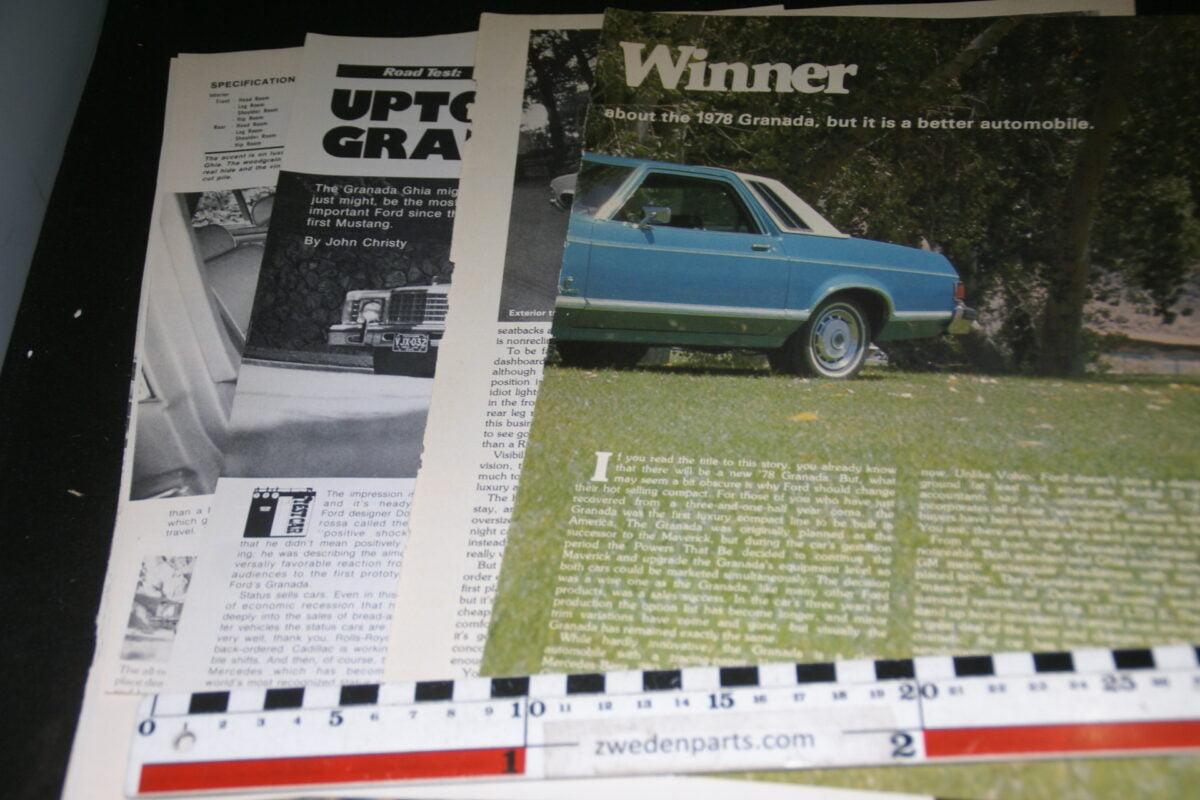 DSC08444 map met tijdschrift artikelen van USA Ford Granada-89a4b9af
